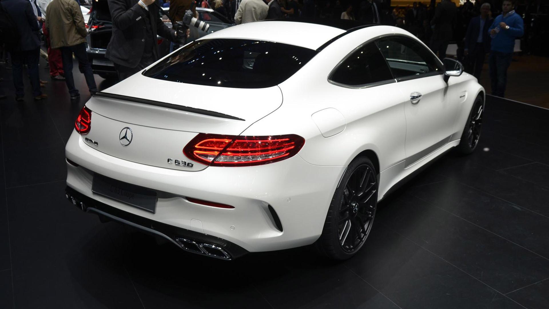 2017 Mercedes-AMG C63 Coupe, 2015 Frankfurt Auto Show
