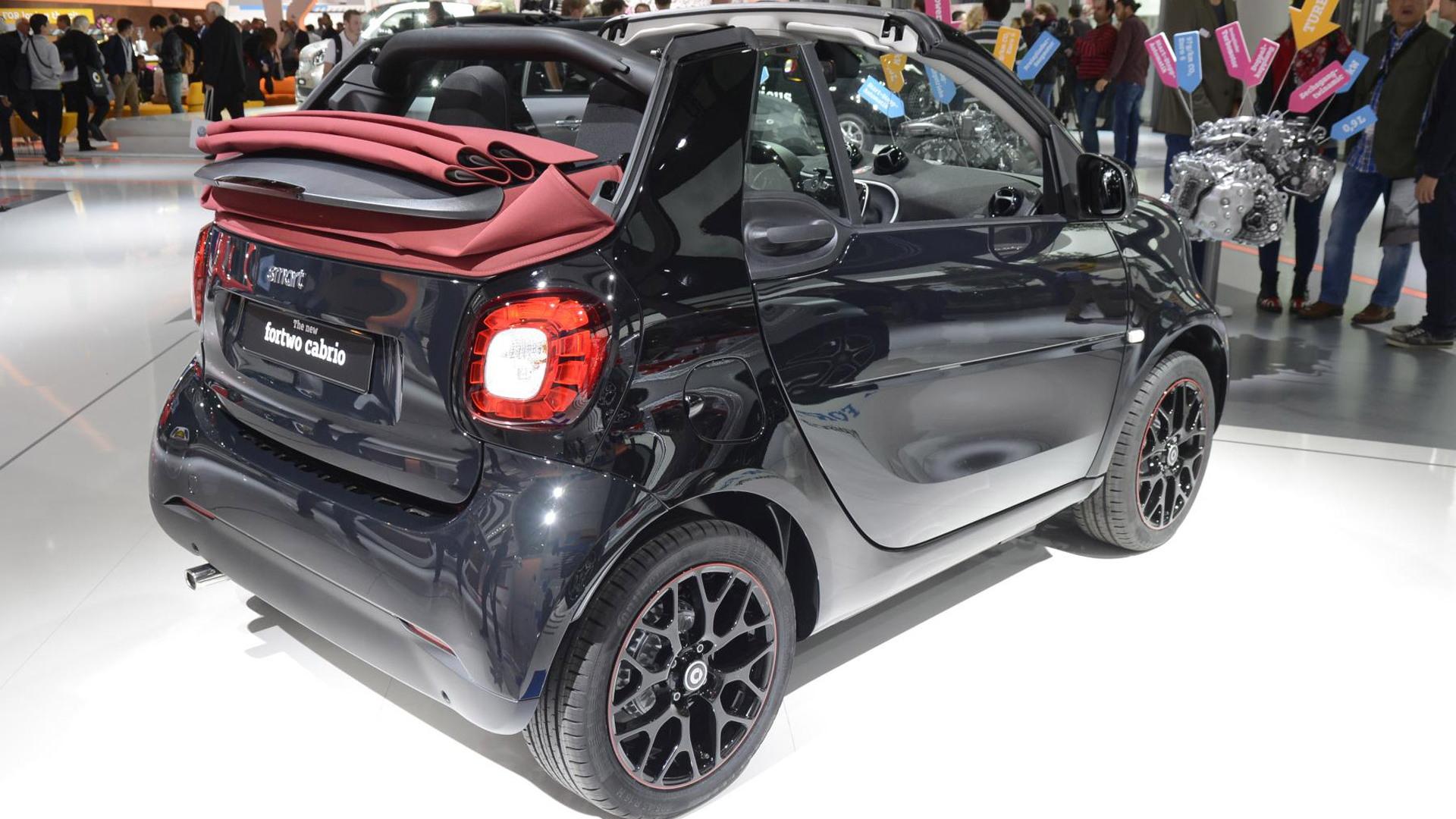 2017 Smart ForTwo Cabrio, 2015 Frankfurt Auto Show