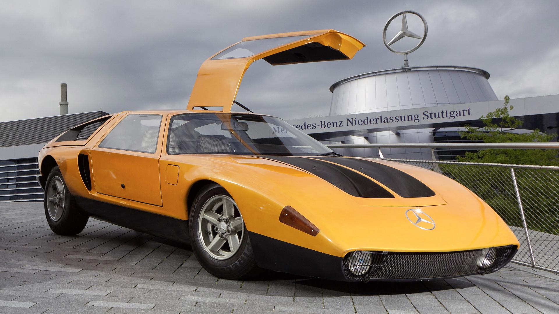 Mercedes-Benz C111-II concept