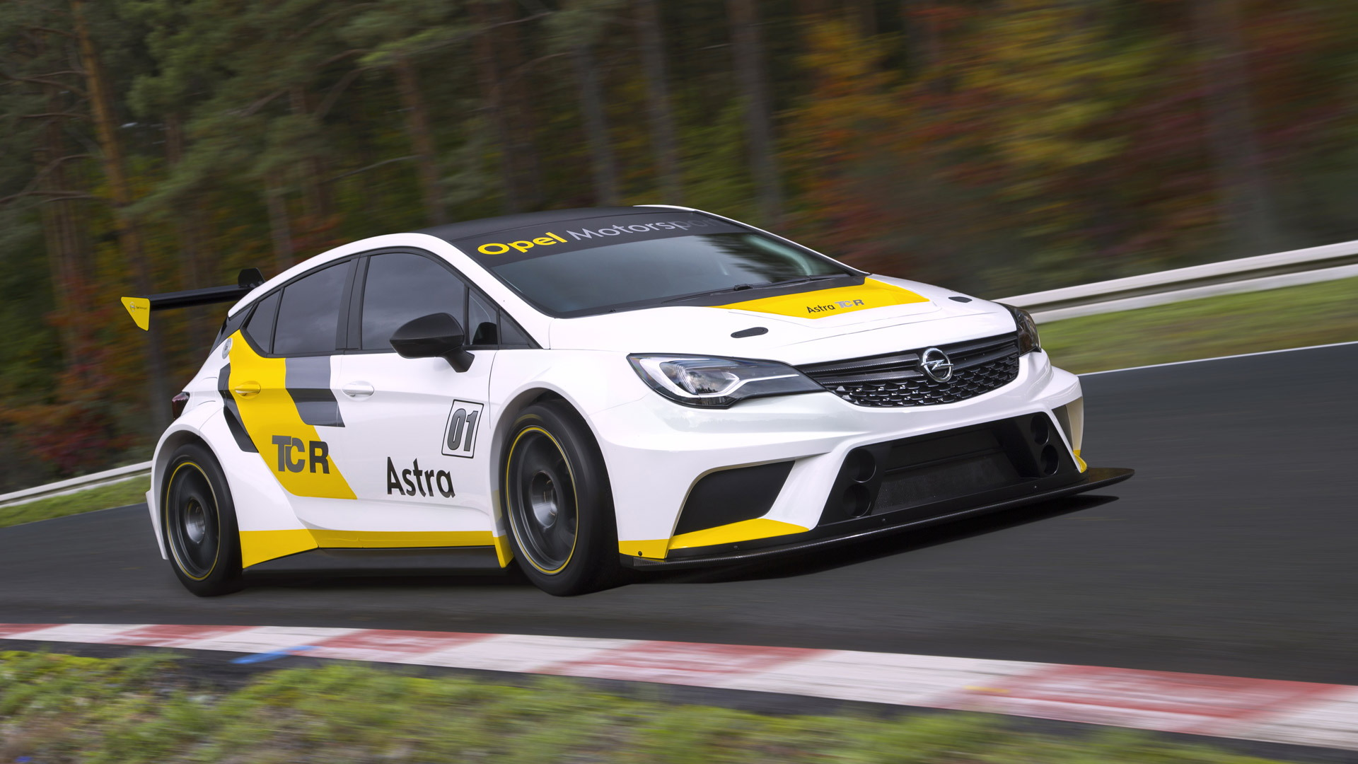 2016 Opel Astra TCR race car