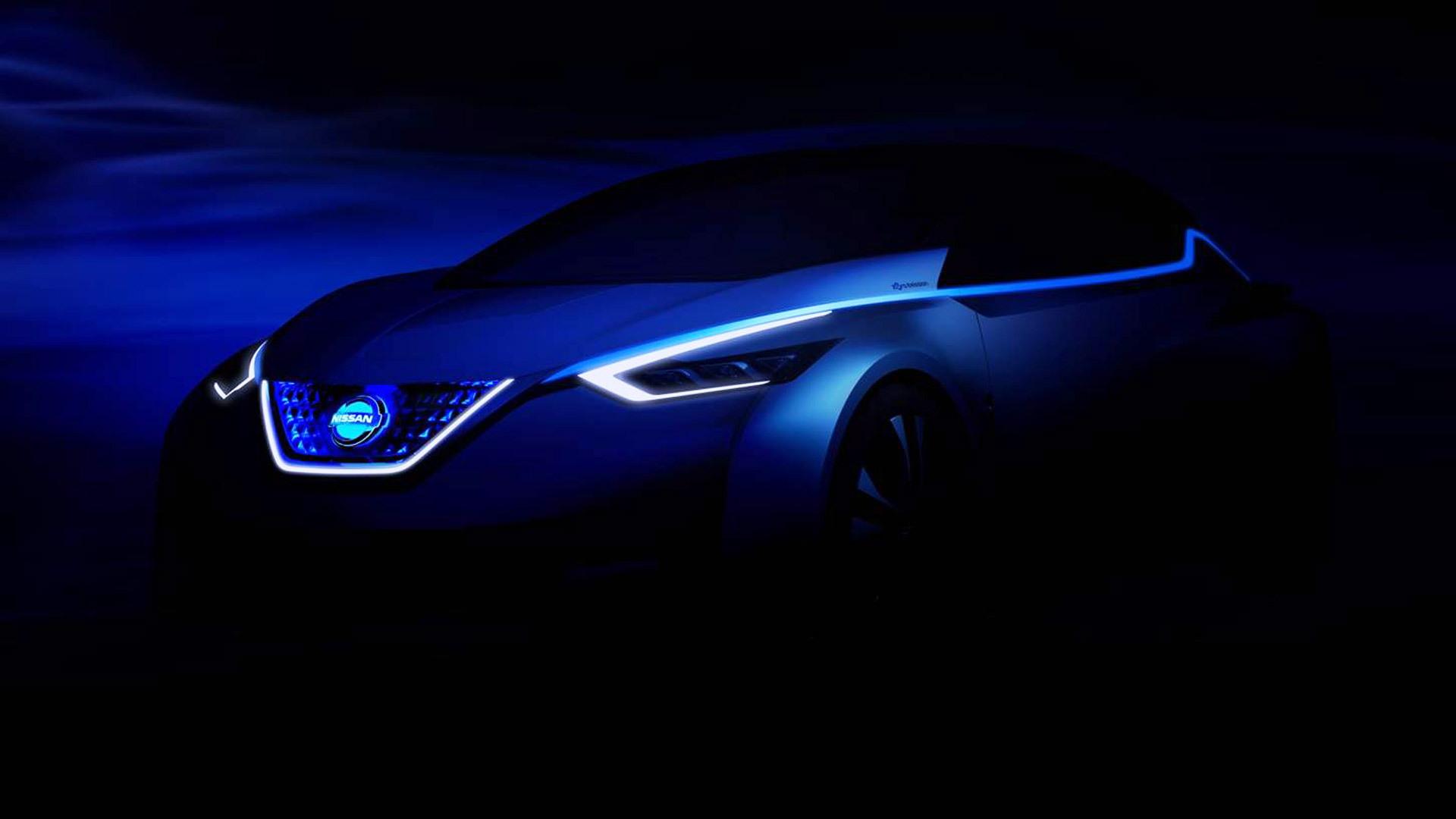 Nissan electric car concept debuting at 2015 Tokyo Motor Show