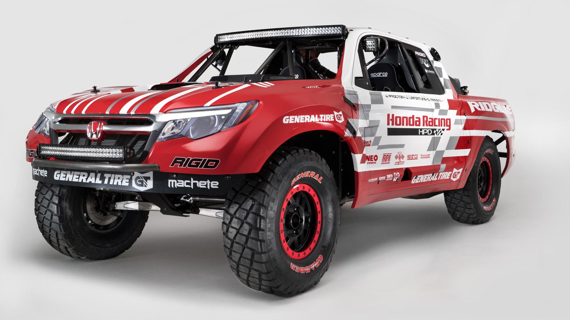 Honda Ridgeline Desert Race Truck, 2015 SEMA show