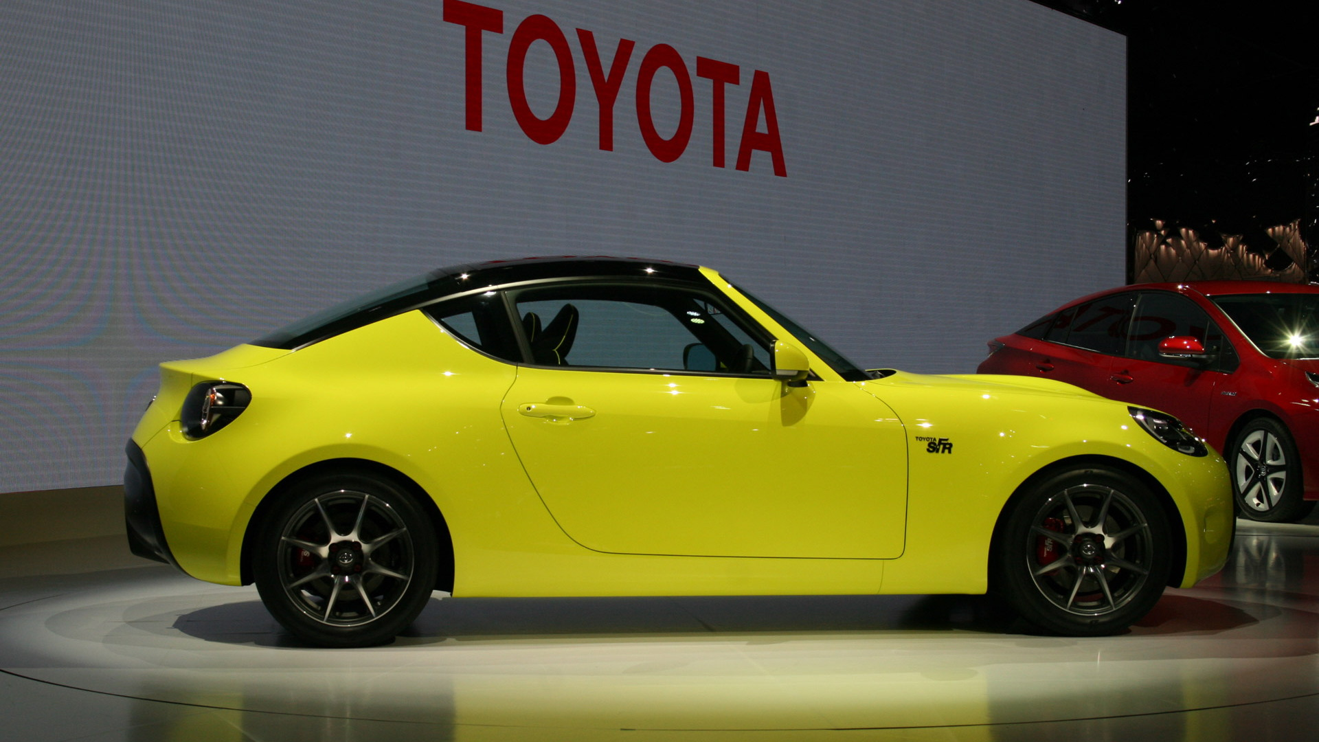Toyota S-FR concept, 2015 Tokyo Motor Show