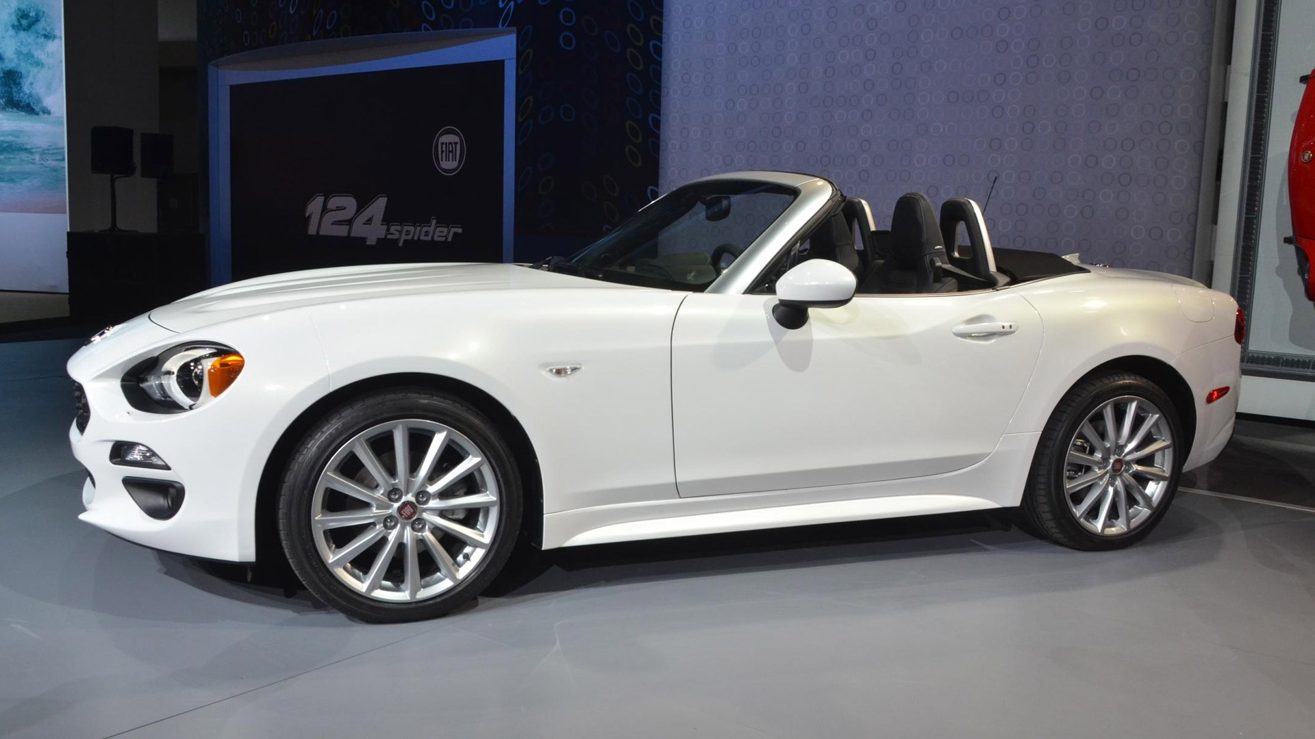 2017 Fiat 124 Spider, 2015 Los Angeles Auto Show