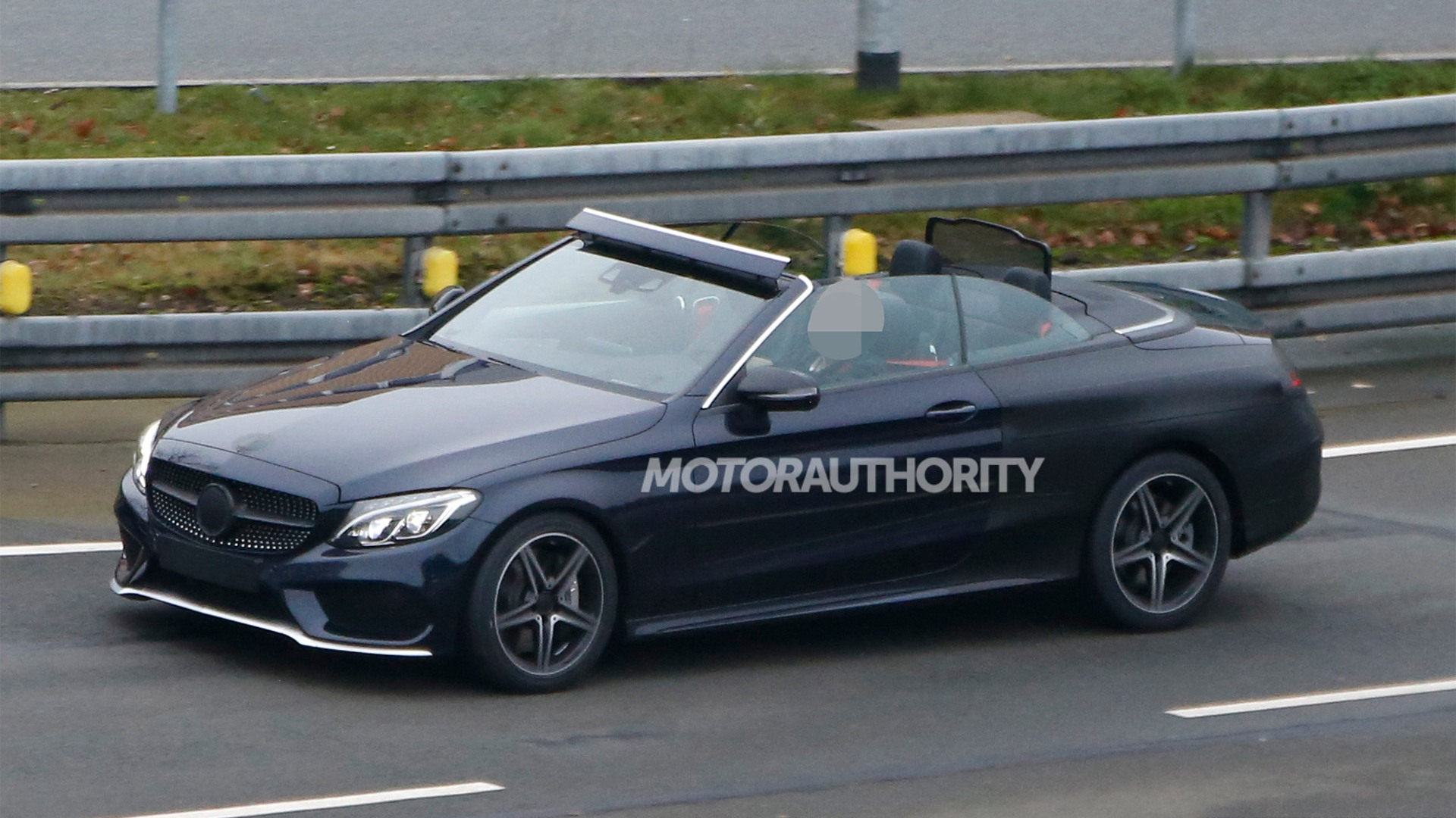 2017 Mercedes Benz C Cl Cabriolet Spy Shots Image Via S Baldauf