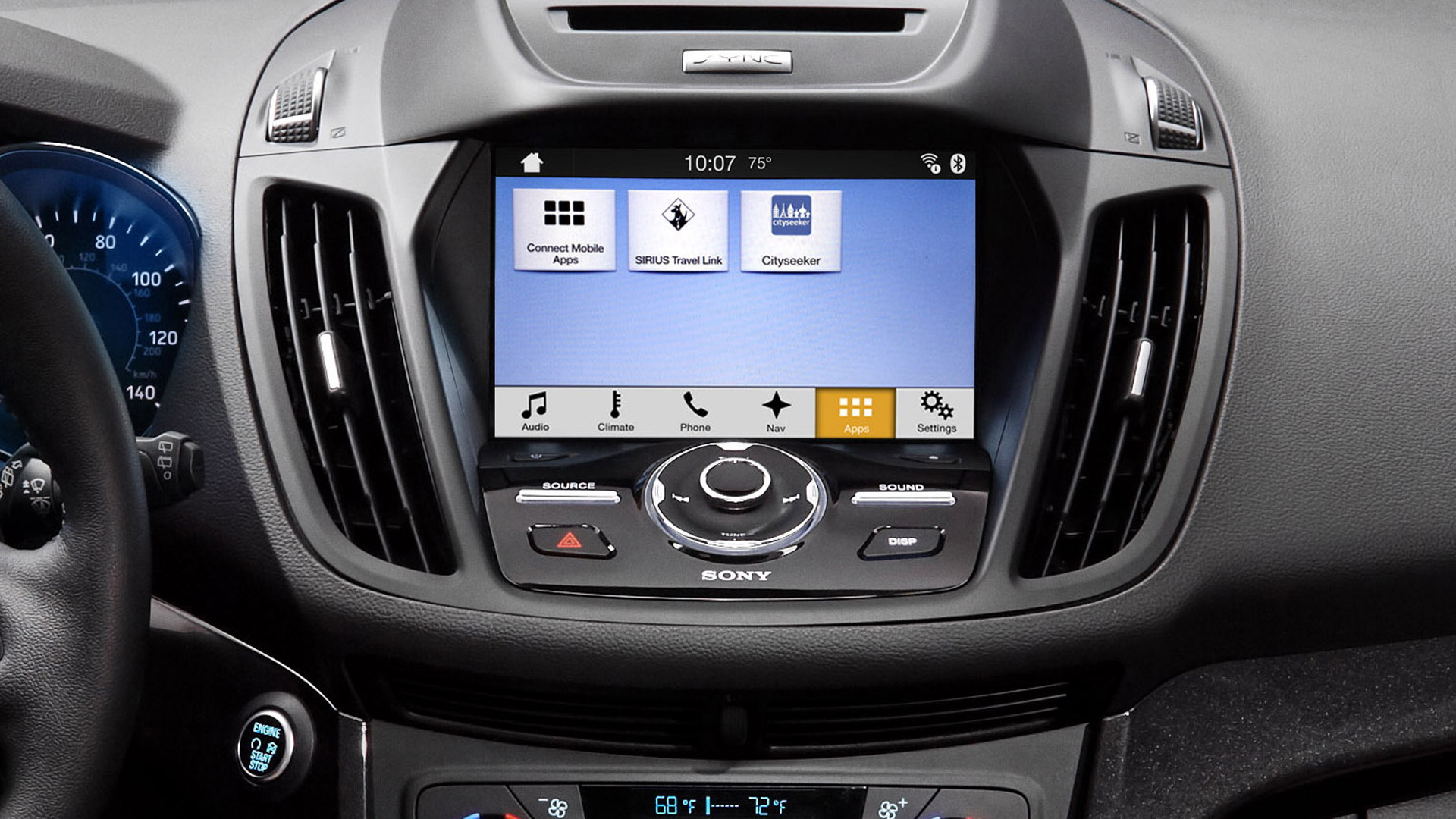 ford upgrades sync 3 with apple carplay android auto and. Black Bedroom Furniture Sets. Home Design Ideas