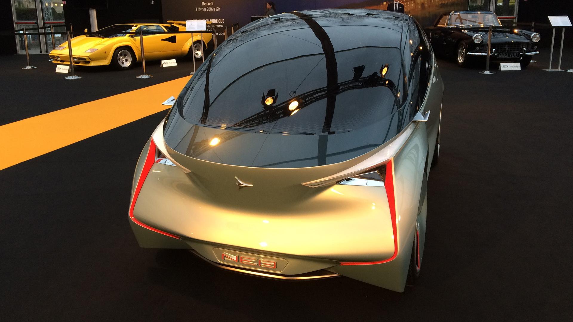 Icona Neo concept, 2016 Festival Automobile International Paris