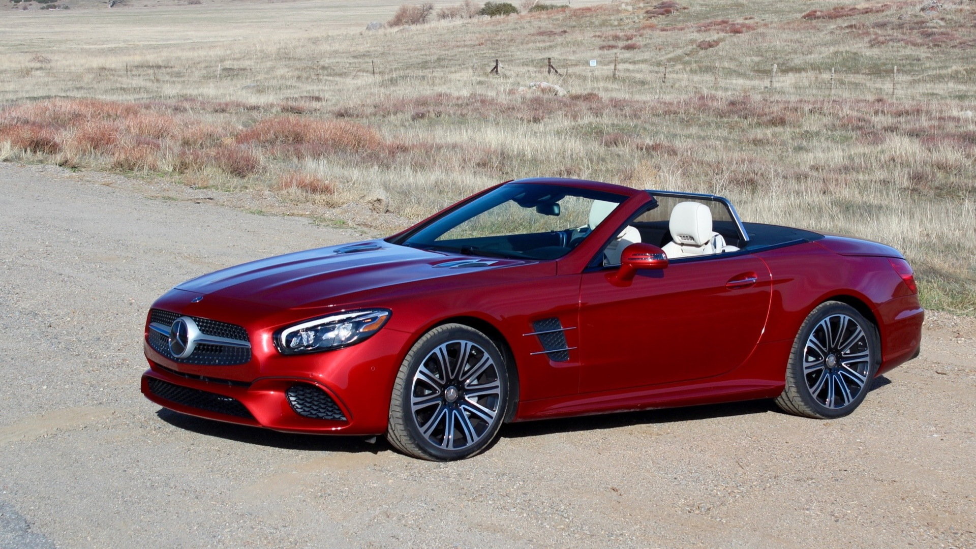 2017 Mercedes-Benz SL450  -  First Drive