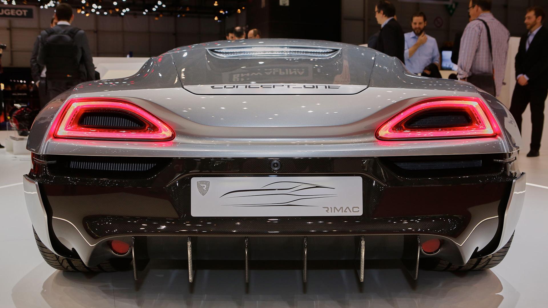 Rimac Concept_One, 2016 Geneva Motor Show