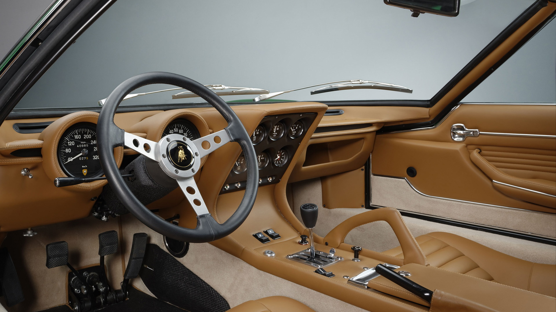 1971 Lamborghini Miura SV pre-production restored by Polo Storico