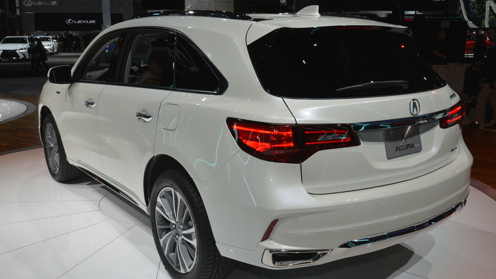 2017 Acura Mdx Debuts With New Look  Nsx
