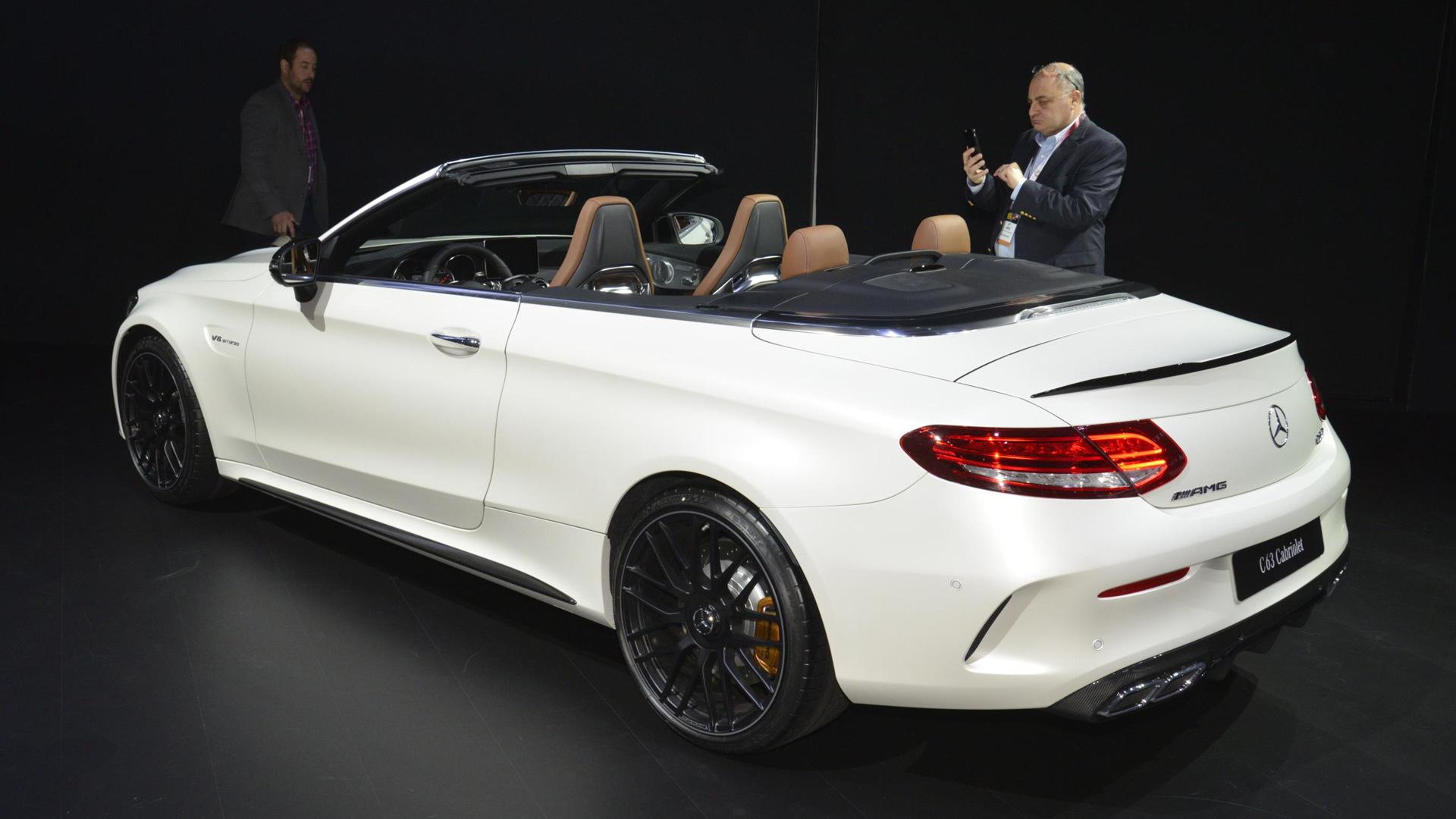 2017 Mercedes-AMG C63 AMG Cabriolet, 2016 New York Auto Show