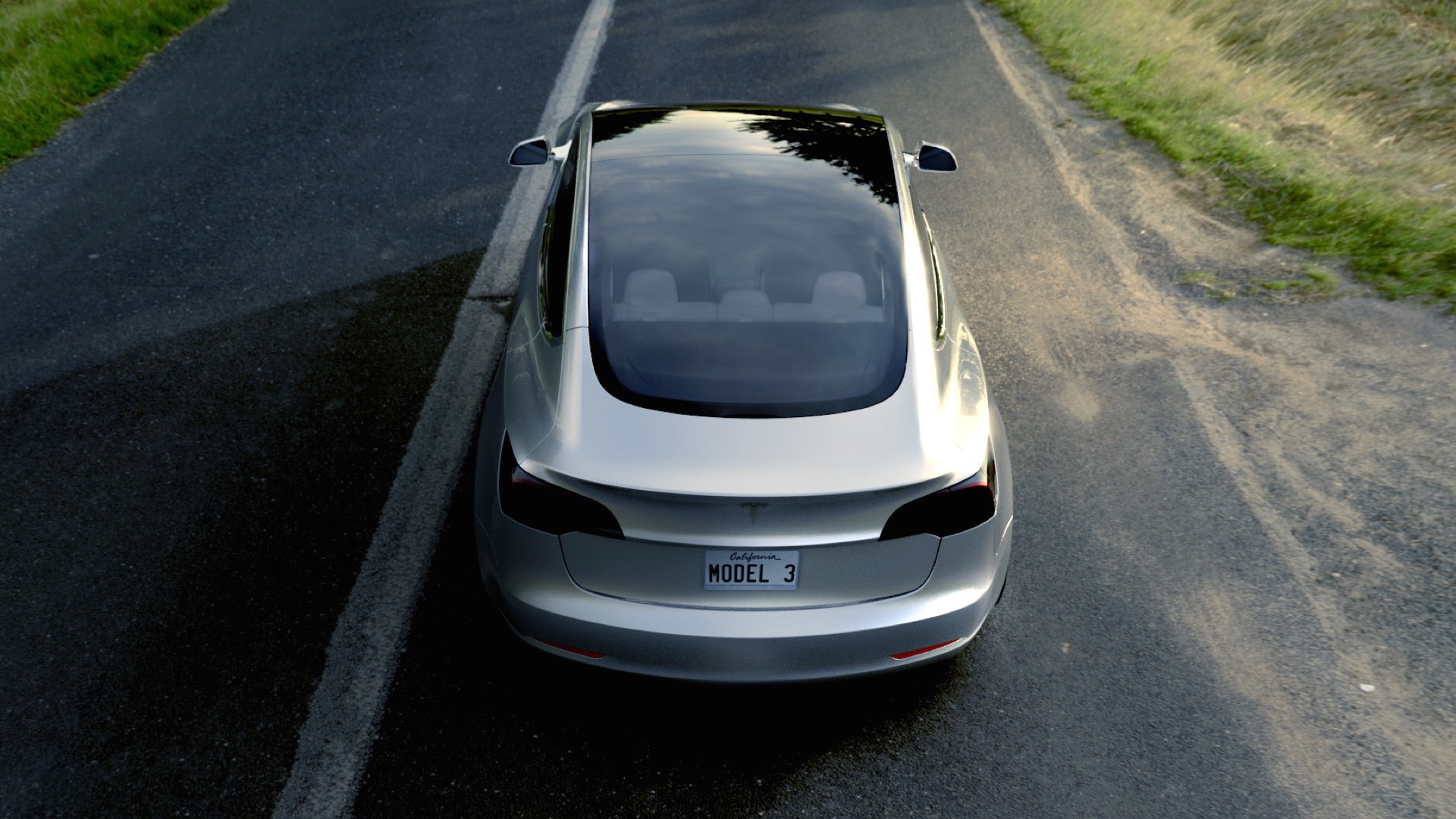 Tesla Model 3 design prototype  -  March 2016