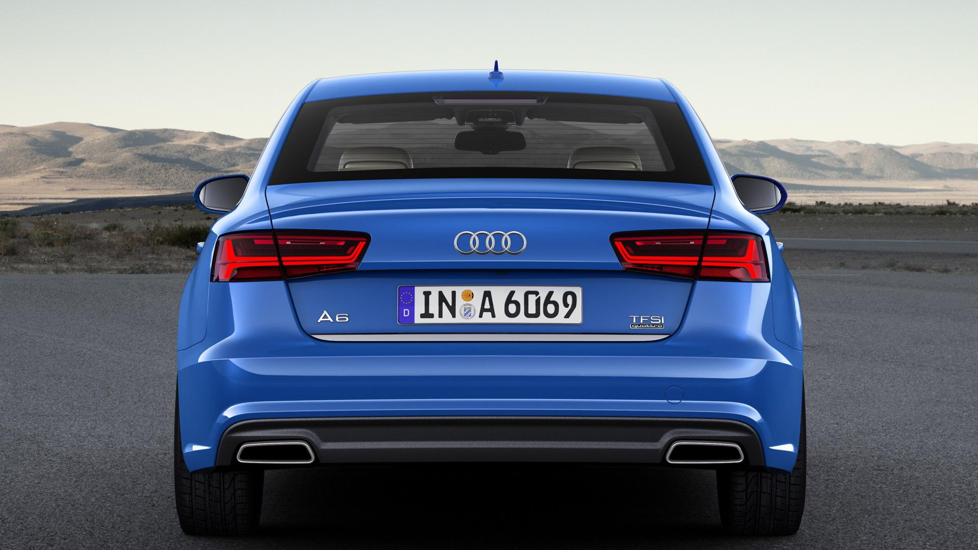 2017 Audi A6 (European spec)