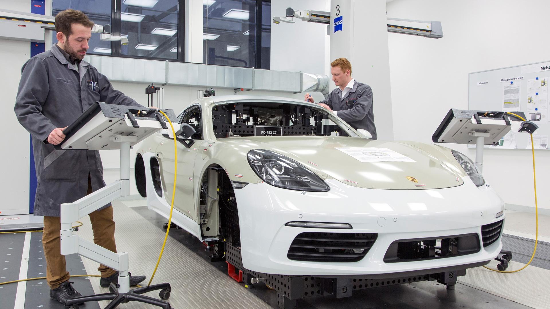 Quality control at Porsche