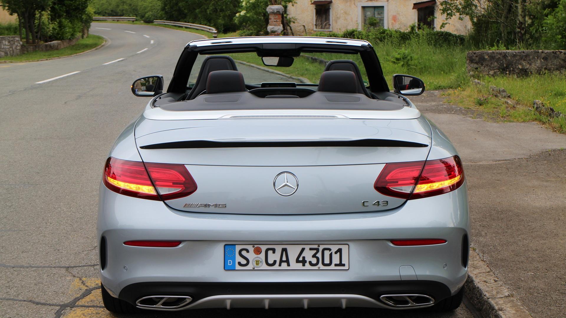 2017 Mercedes-AMG C43 Cabrio (European version), Trieste region, May 2016