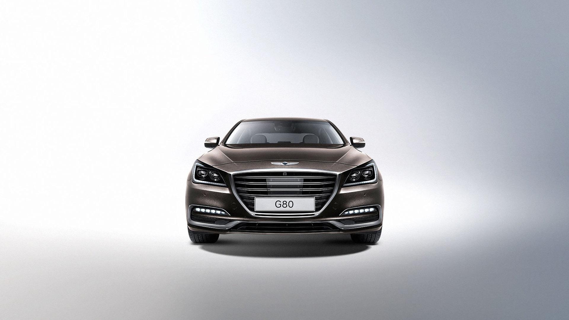 2017 Genesis G80 (Korean spec)