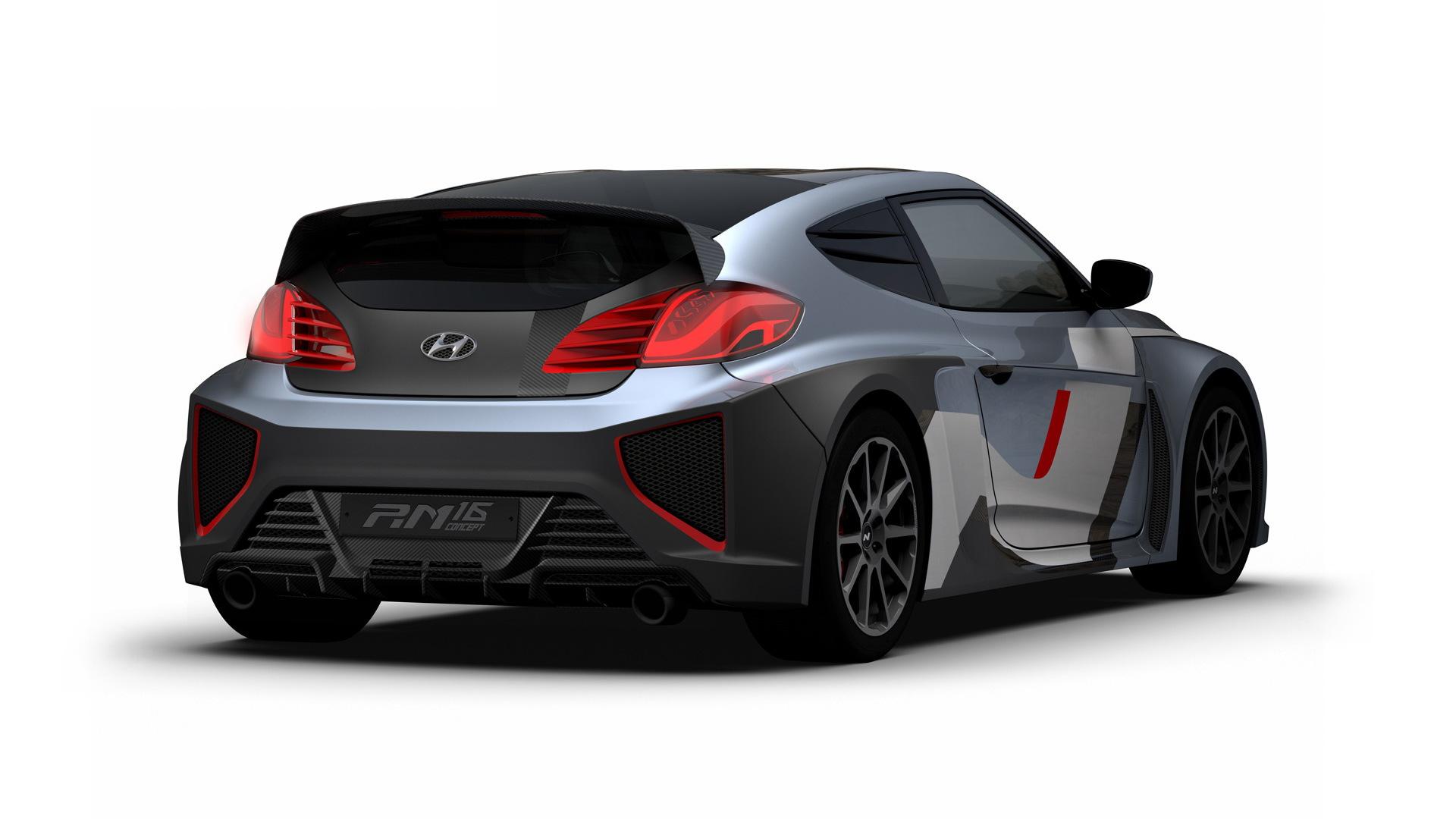 Hyundai RM16 N concept, 2016 Busan Auto Show