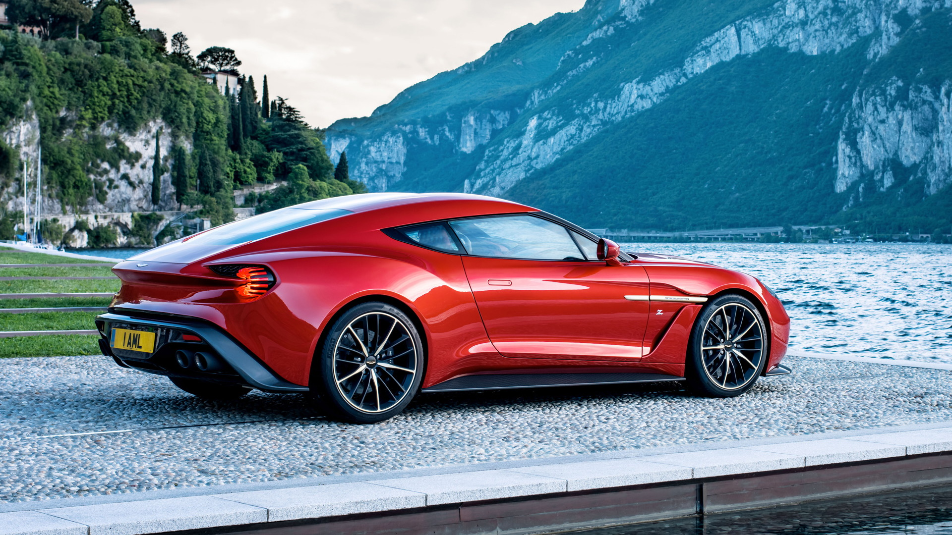 Someone Bought All 4 Aston Martin Vanquish Zagato Body Styles