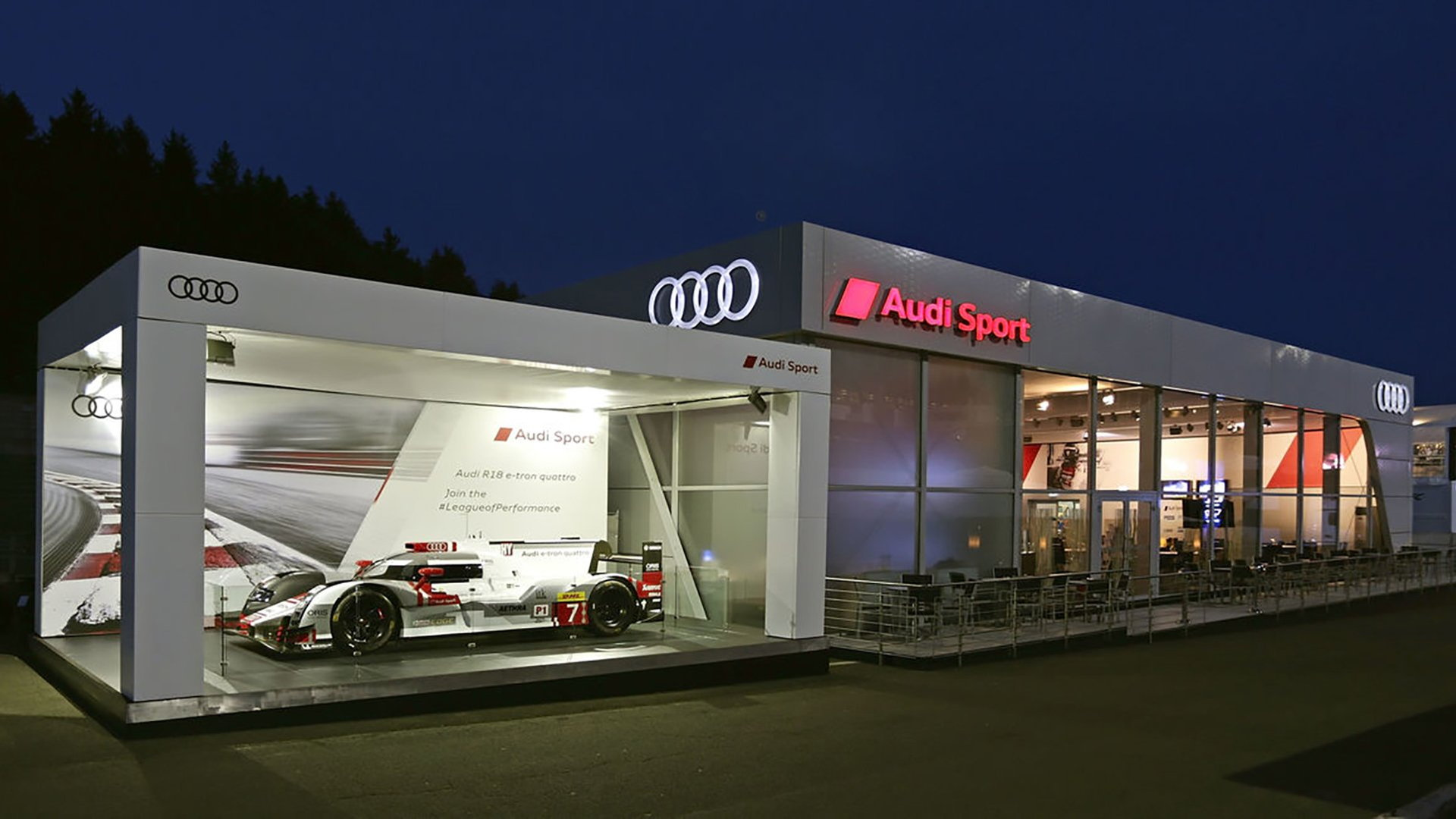 Audi 24 Hours of Le Forza