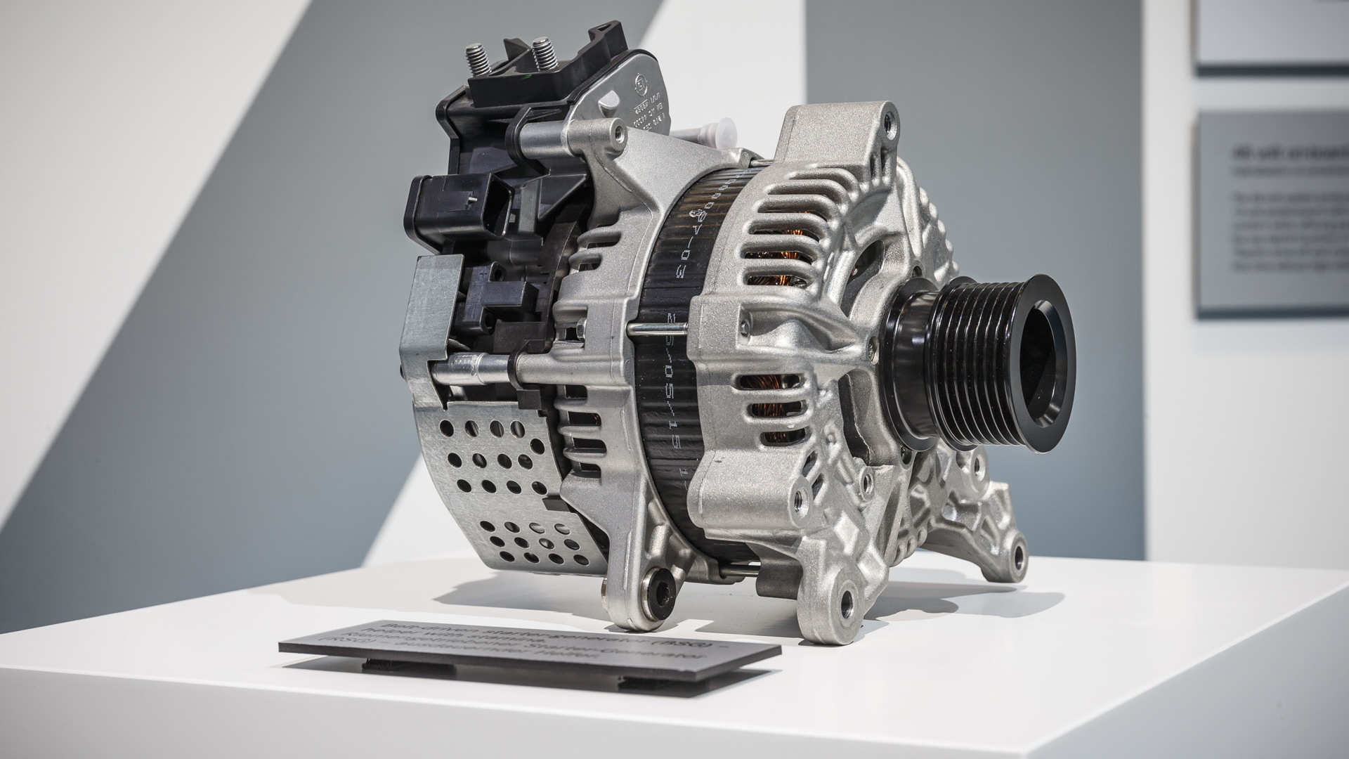 Mercedes-Benz belt-driven starter generator (RSG)