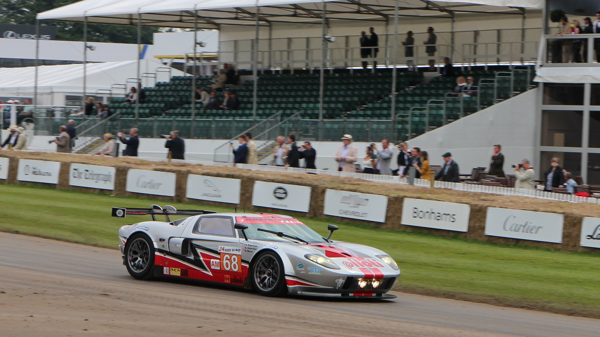 Ford GT LM GTE at 2016 Goodwood Festival of Speed