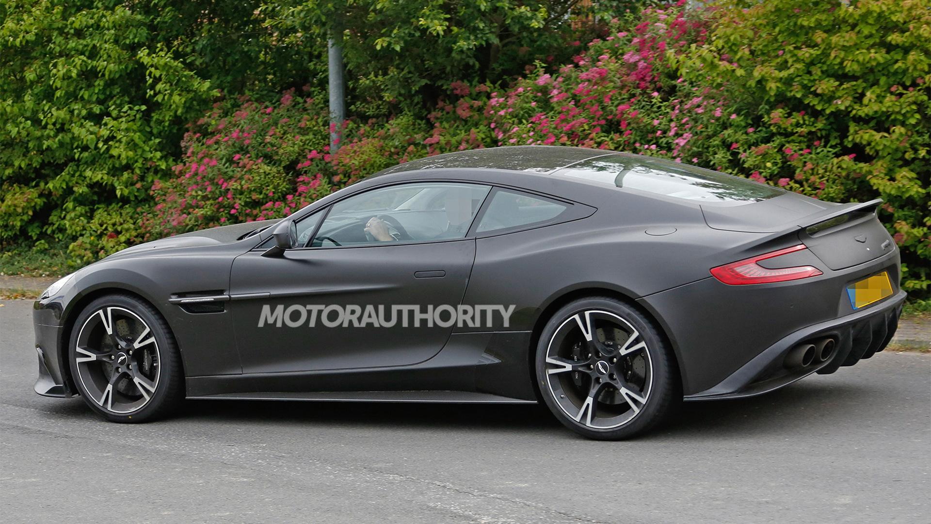 2018 Aston Martin Vanquish S spy shots - Image via S. Baldauf/SB-Medien