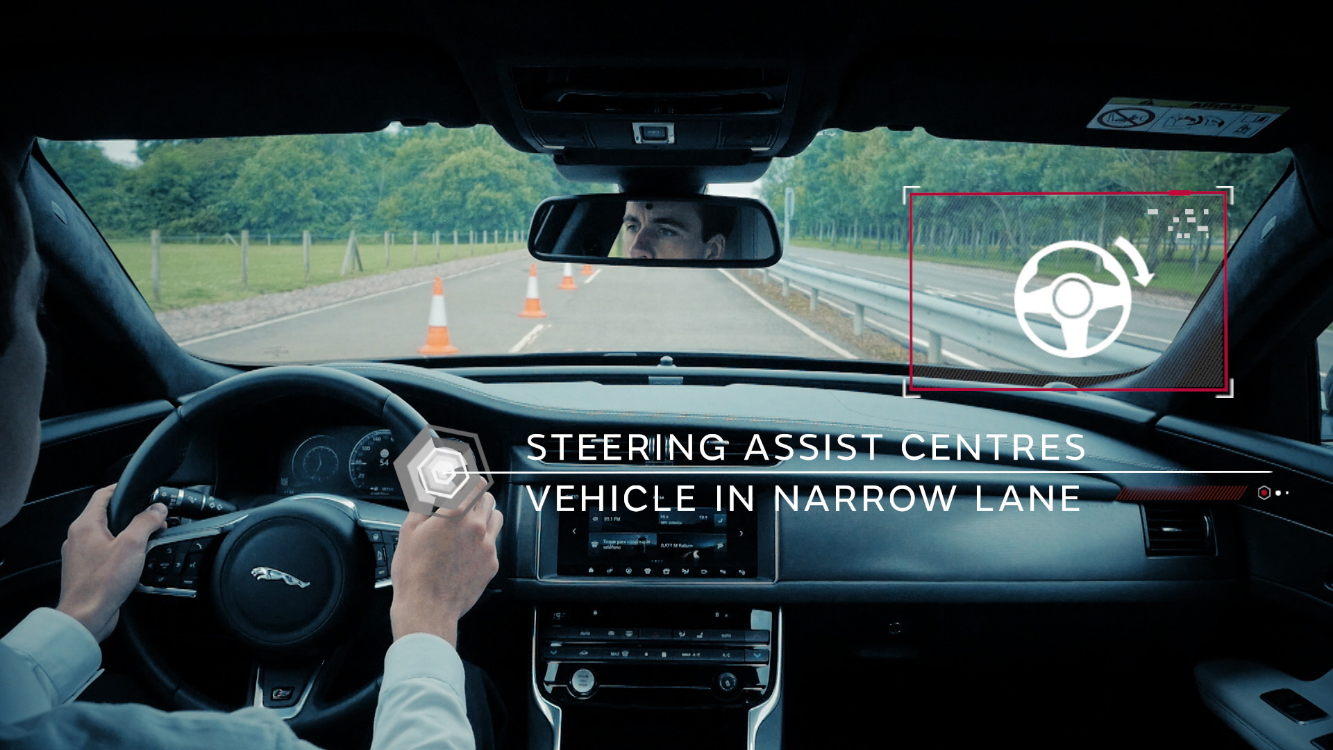 Jaguar Land Rover connected car and autonomous car technology