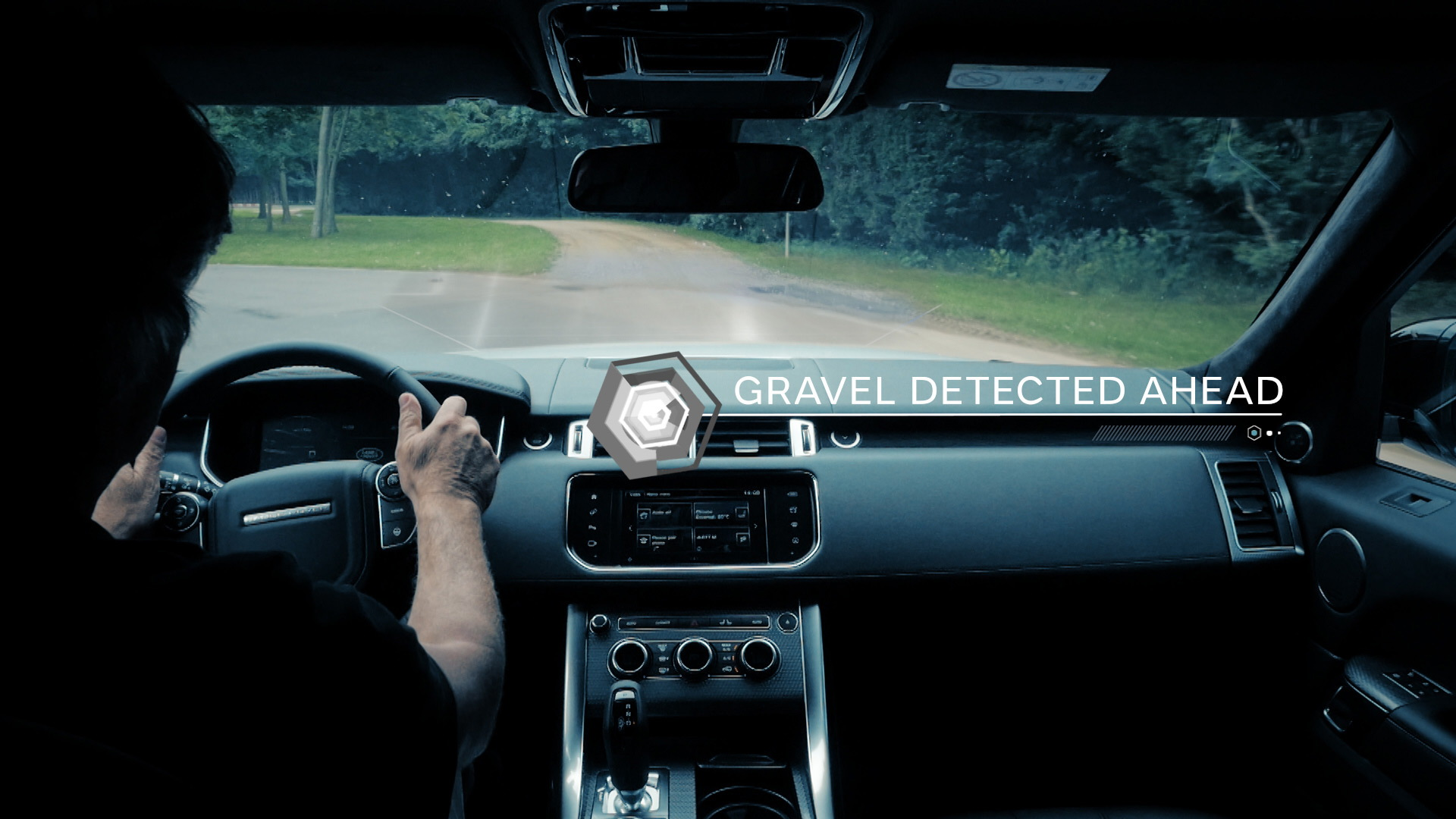 Jaguar Land Rover off-roading self-driving technology