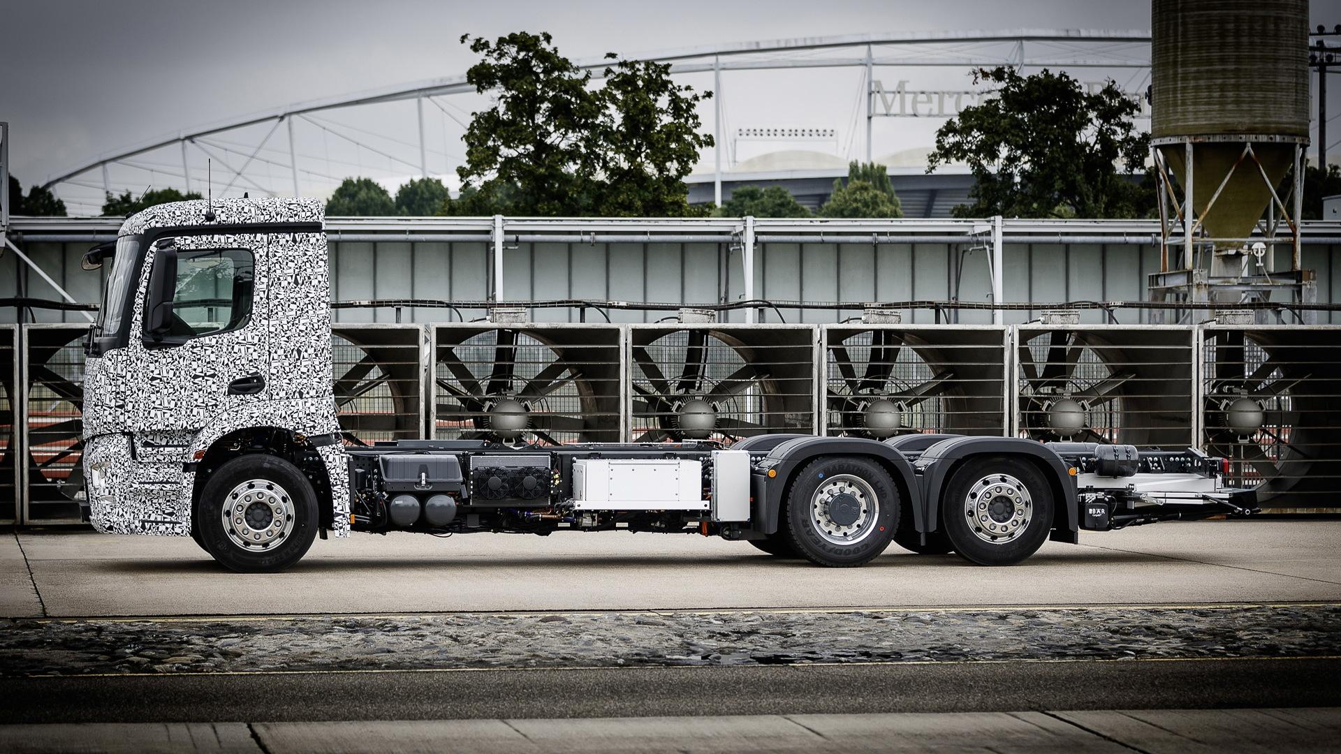 Mercedes-Benz Urban eTruck concept