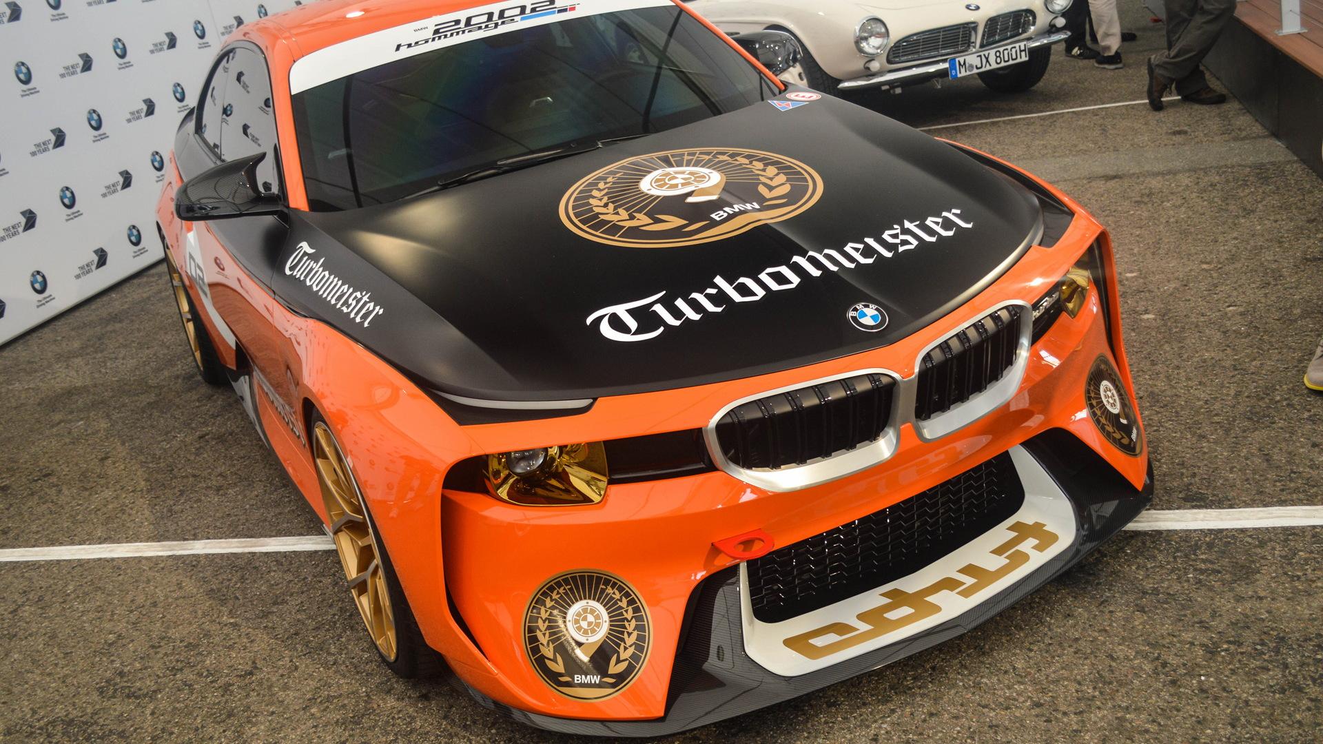 BMW 2002 Hommage concept, 2016 Monterey Car Week - Image via Carspotter Jeroen