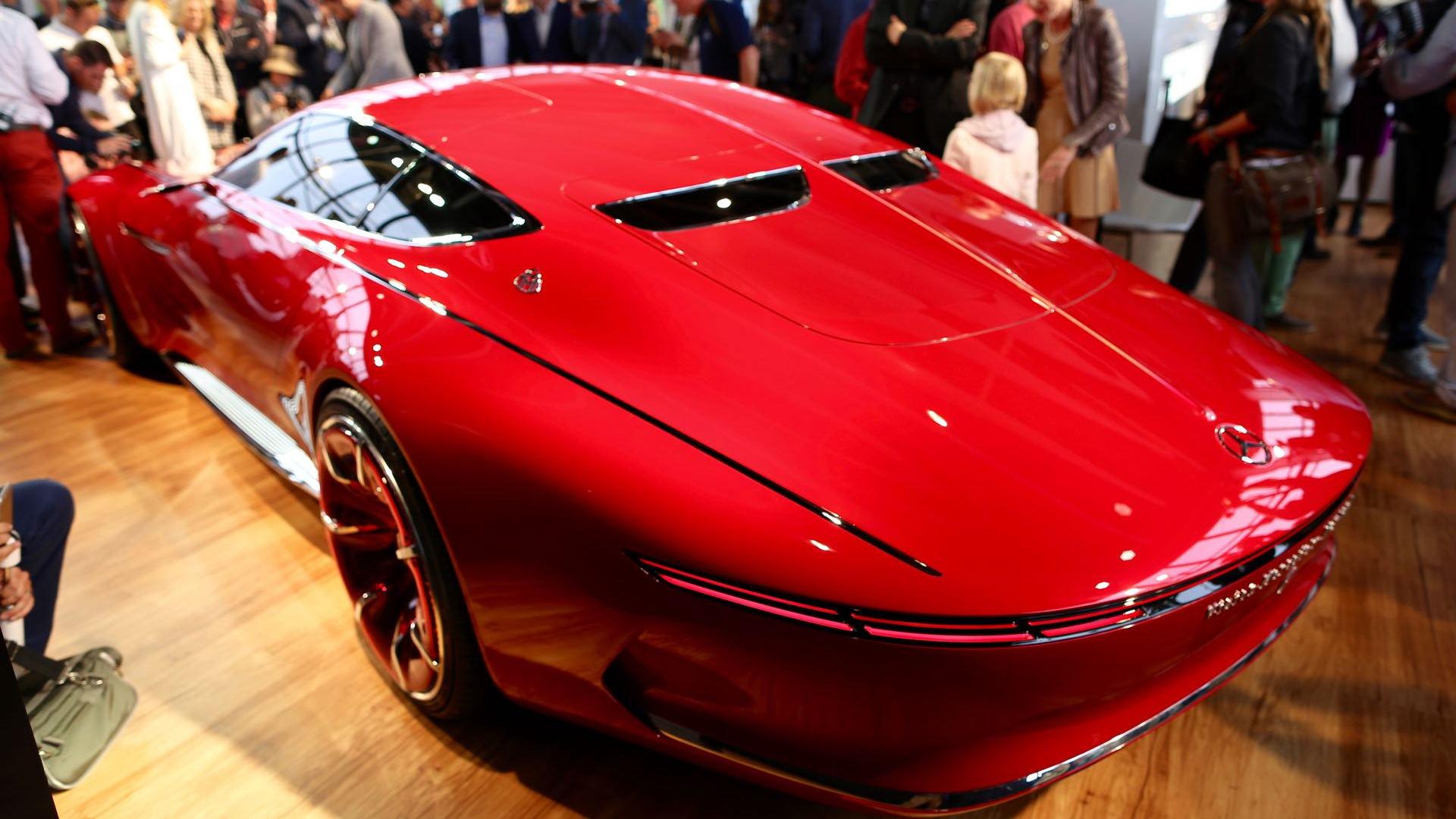 Vision Mercedes-Maybach 6 concept, 2016 Monterey Car Week