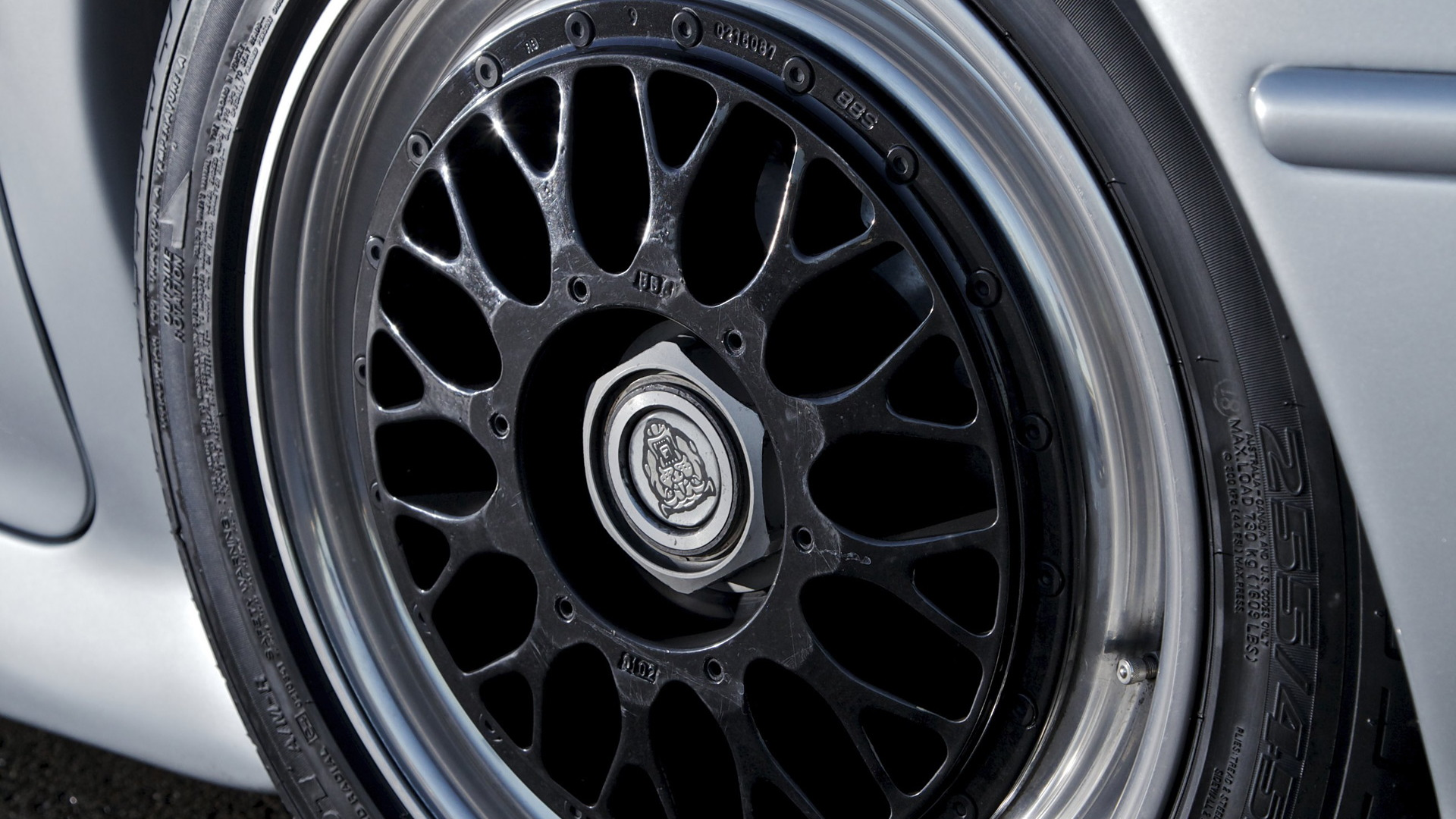 New Bridgestone tire for the Jaguar XJ220