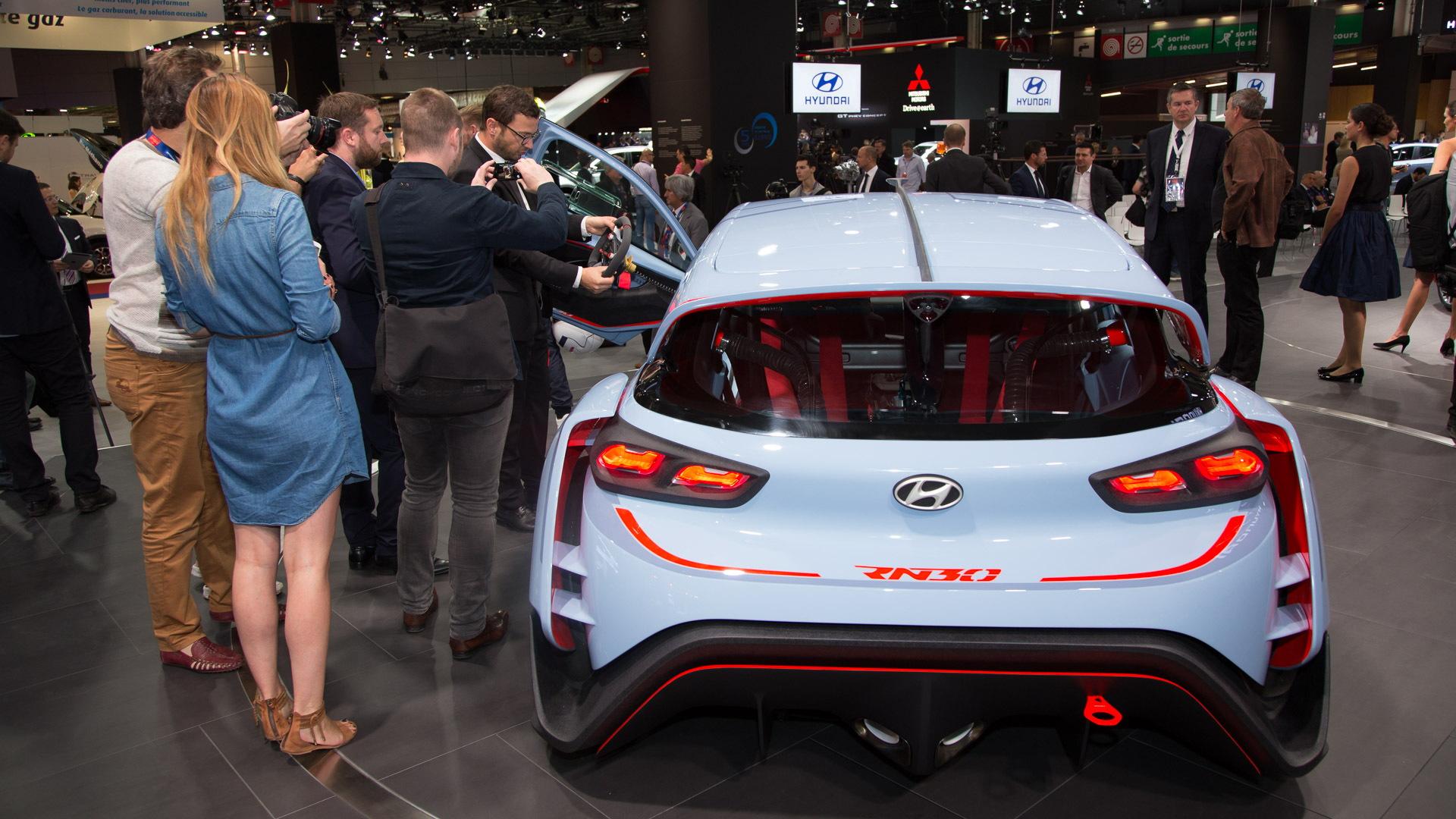 Hyundai RN30 concept, 2016 Paris auto show