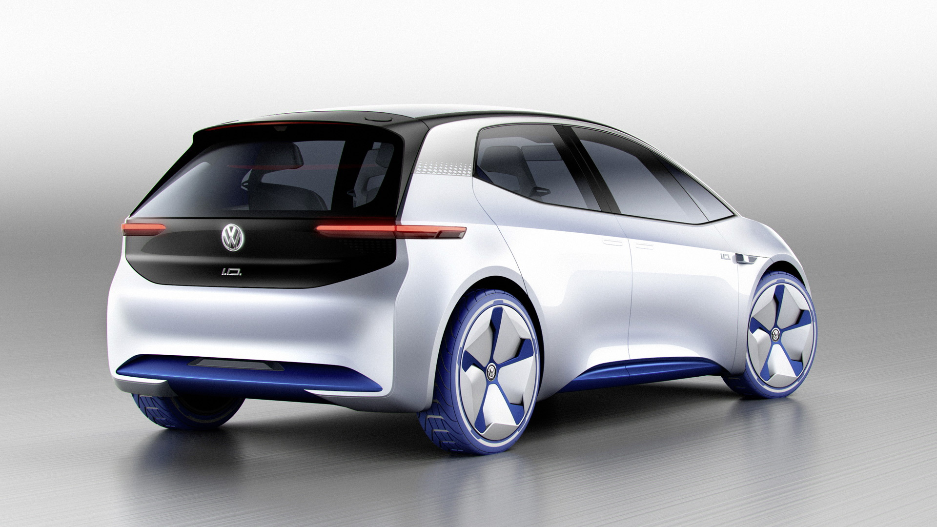 Volkswagen ID Neo concept, 2016 Paris auto show