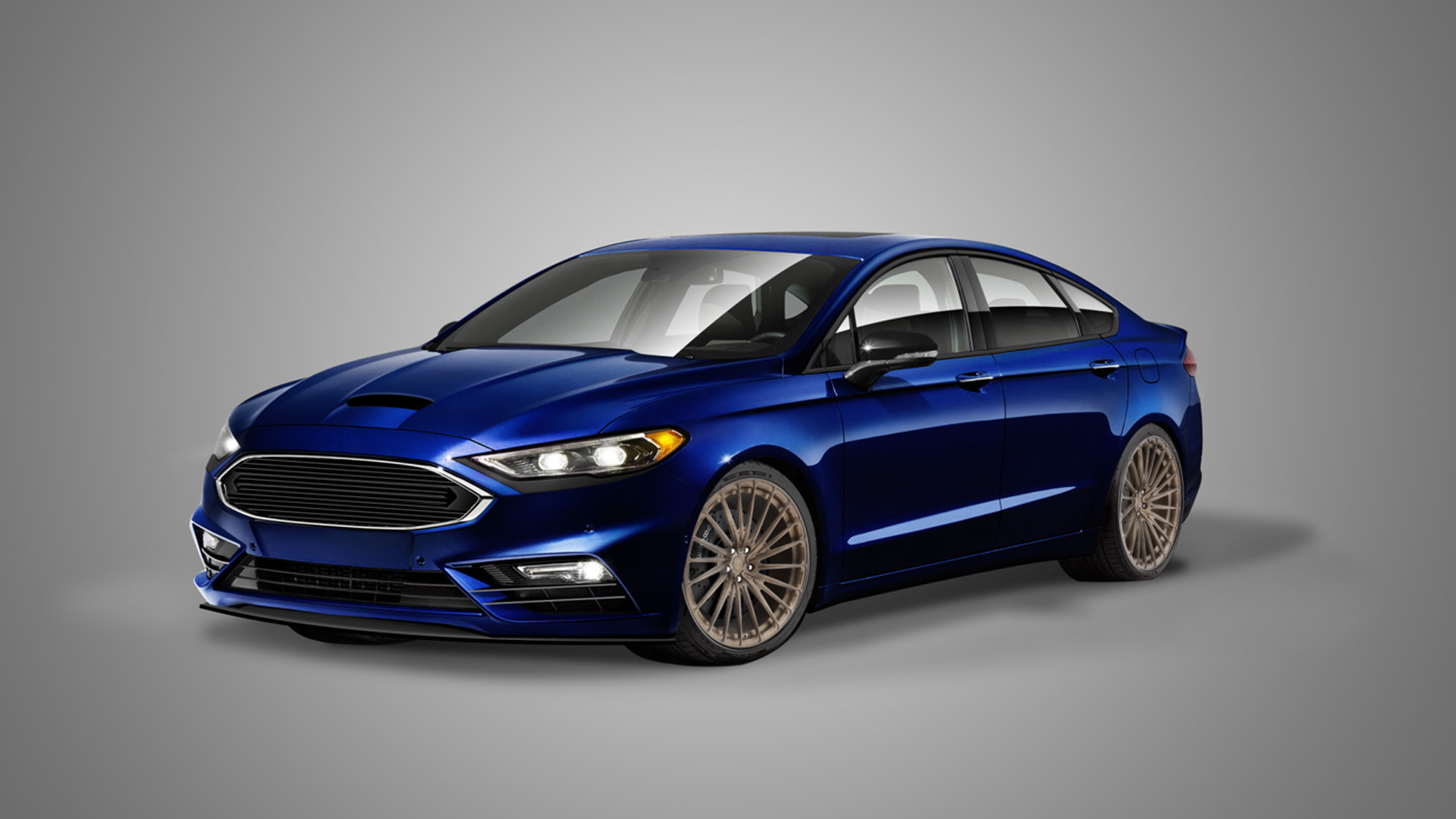 2017 Ford Fusion Sport by Legacy Innovations, 2016 SEMA show