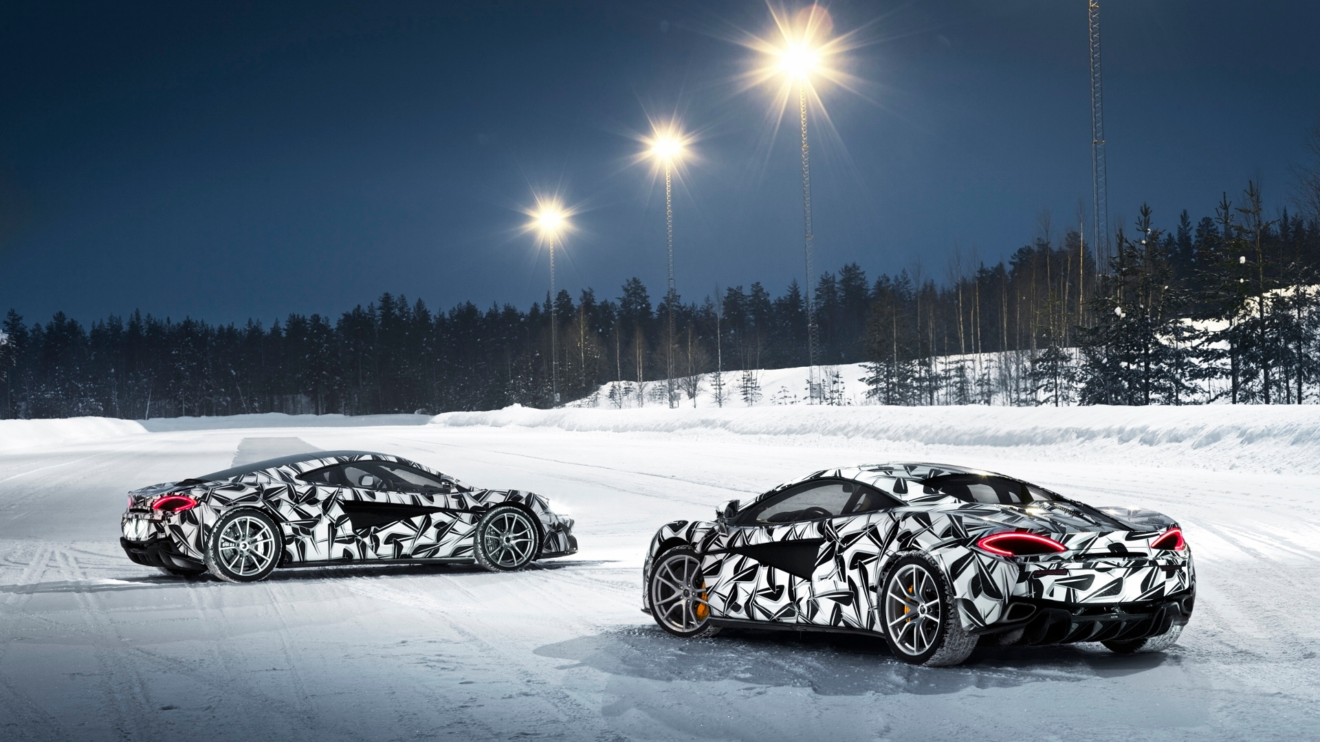 Pure McLaren Ice Driving Experience