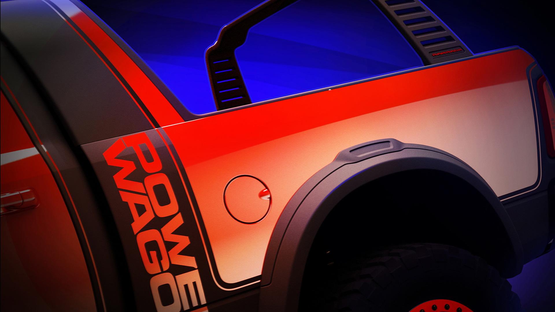 Ram Power Wagon Mopar concept, 2016 SEMA show