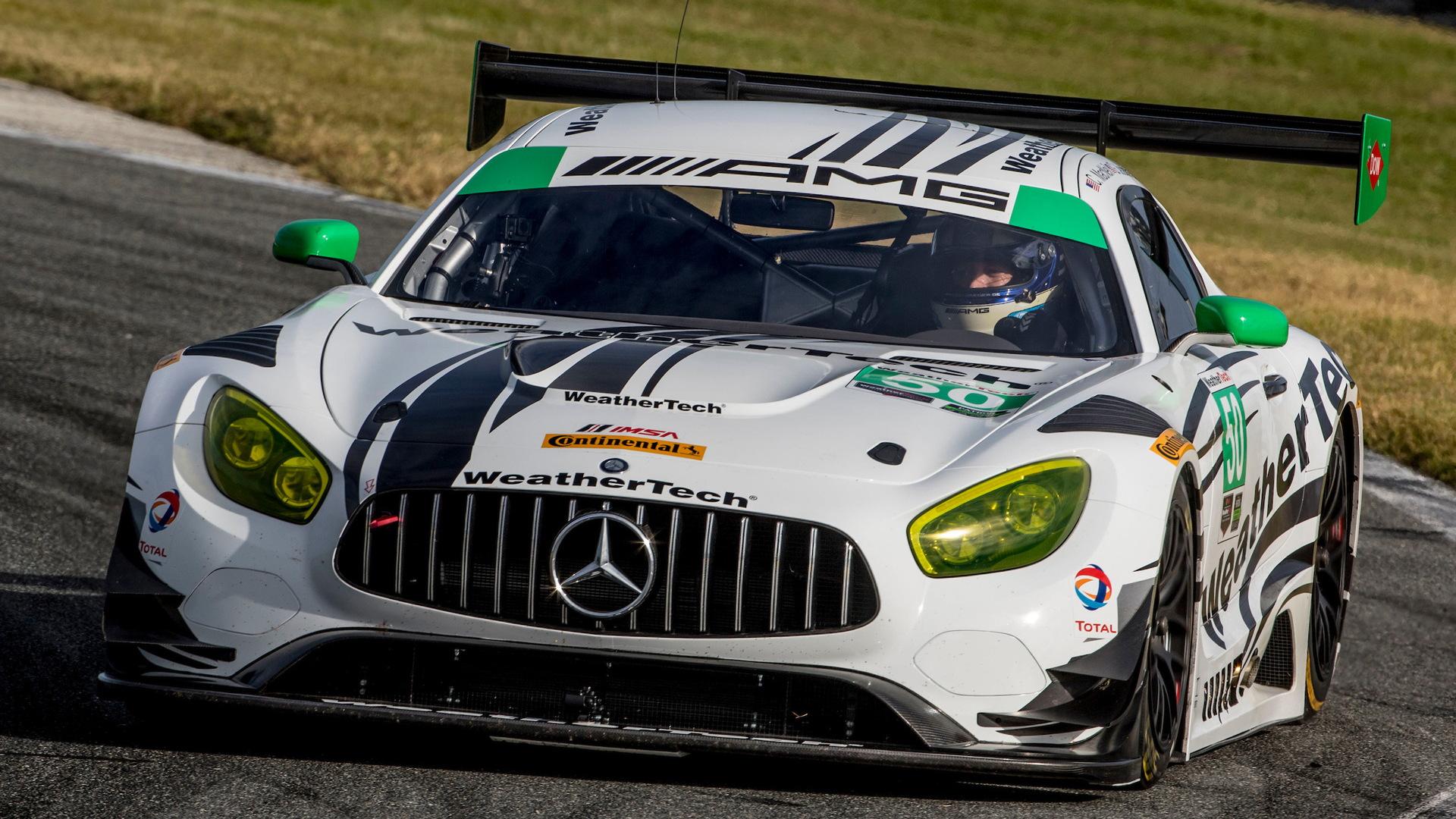 2017 Mercedes-AMG GT3 - Image via Brian Cleary/BCPix.com