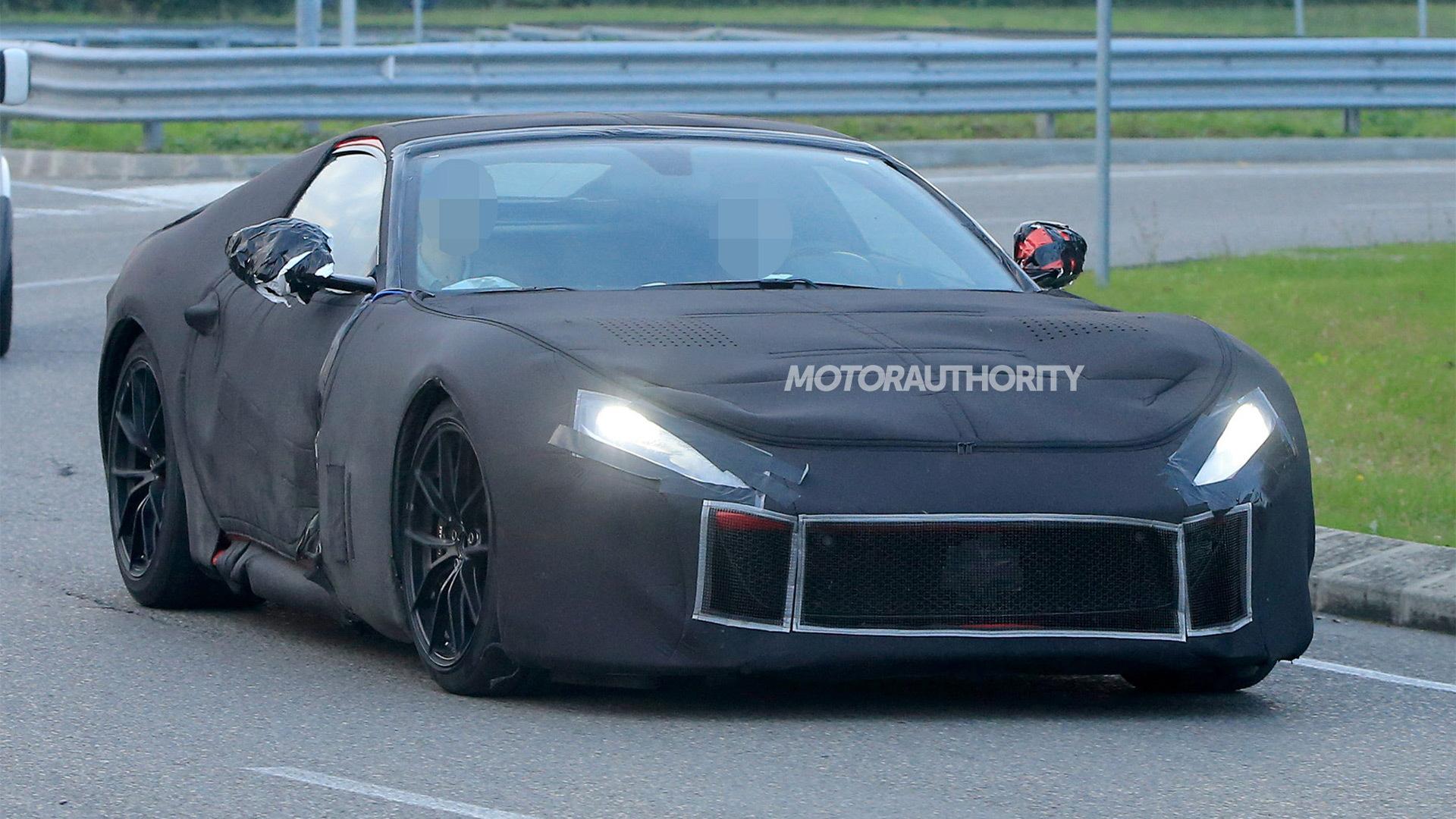2018 Ferrari F12 M spy shots - Image via S. Baldauf/SB-Medien