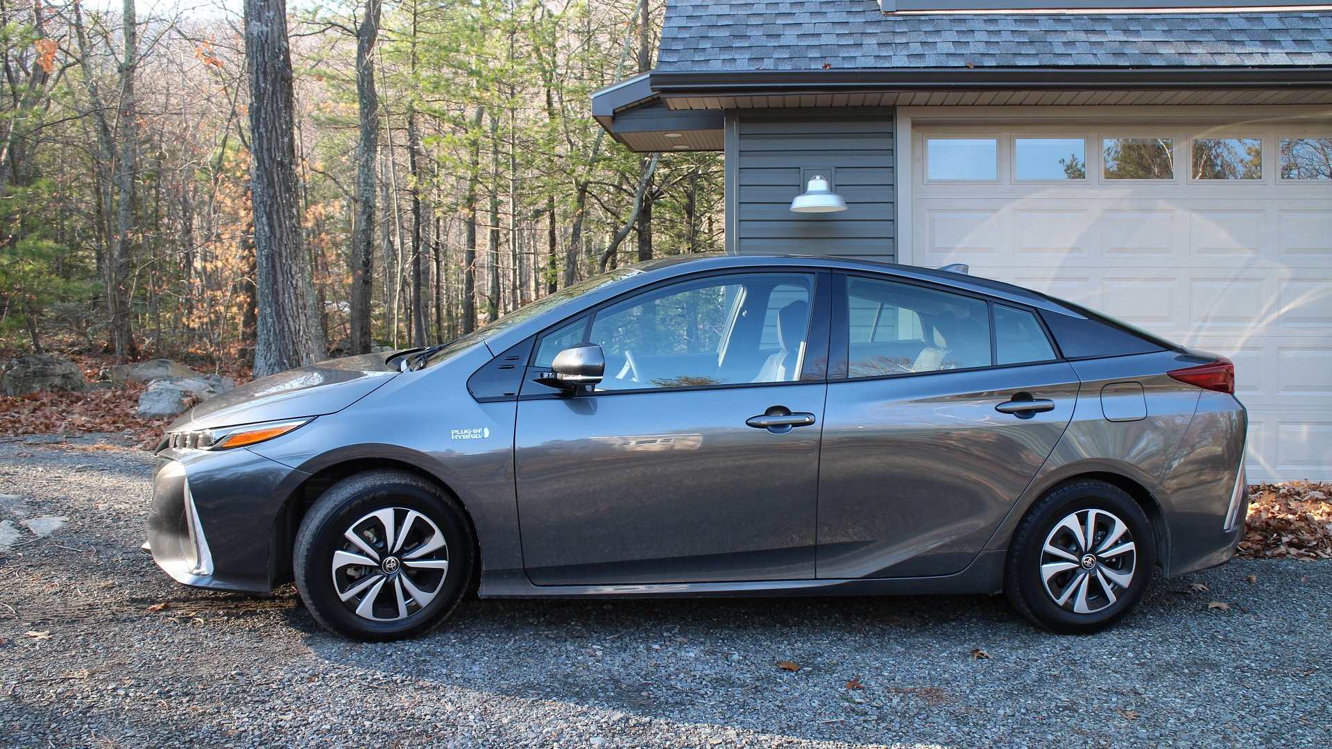 2017 Toyota Prius Prime, Catskill Mountains, NY, Nov 2016