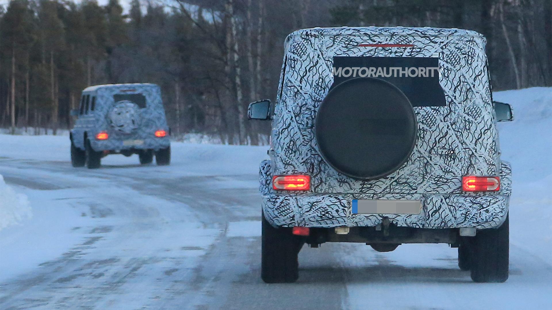 2019 Mercedes-AMG G63 spy shots - Image via S. Baldauf/SB-Medien