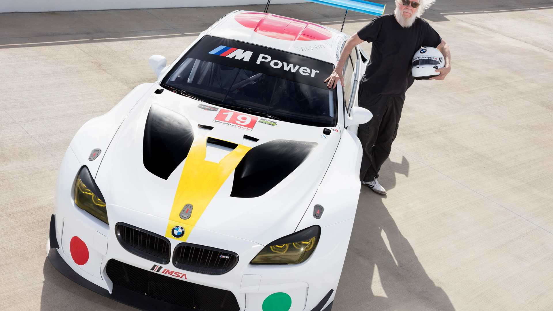 John Baldessari BMW M6 GT3 Art Car