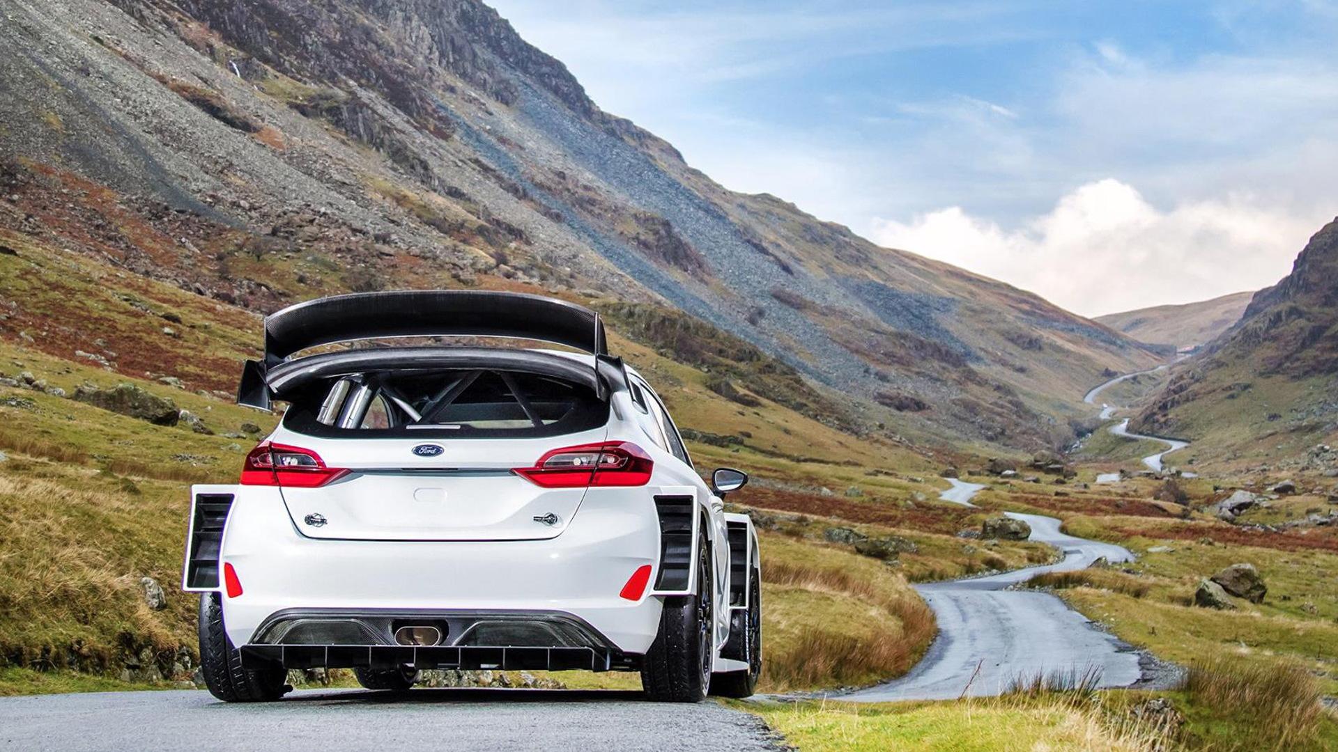 2017 Ford Fiesta RS WRC rally car