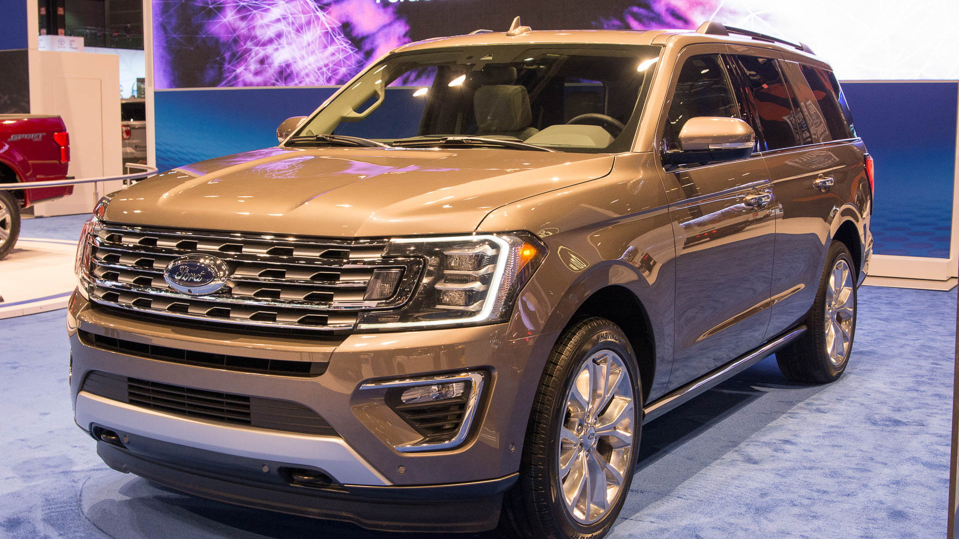 2018 Ford Expedition, 2017 Chicago auto show