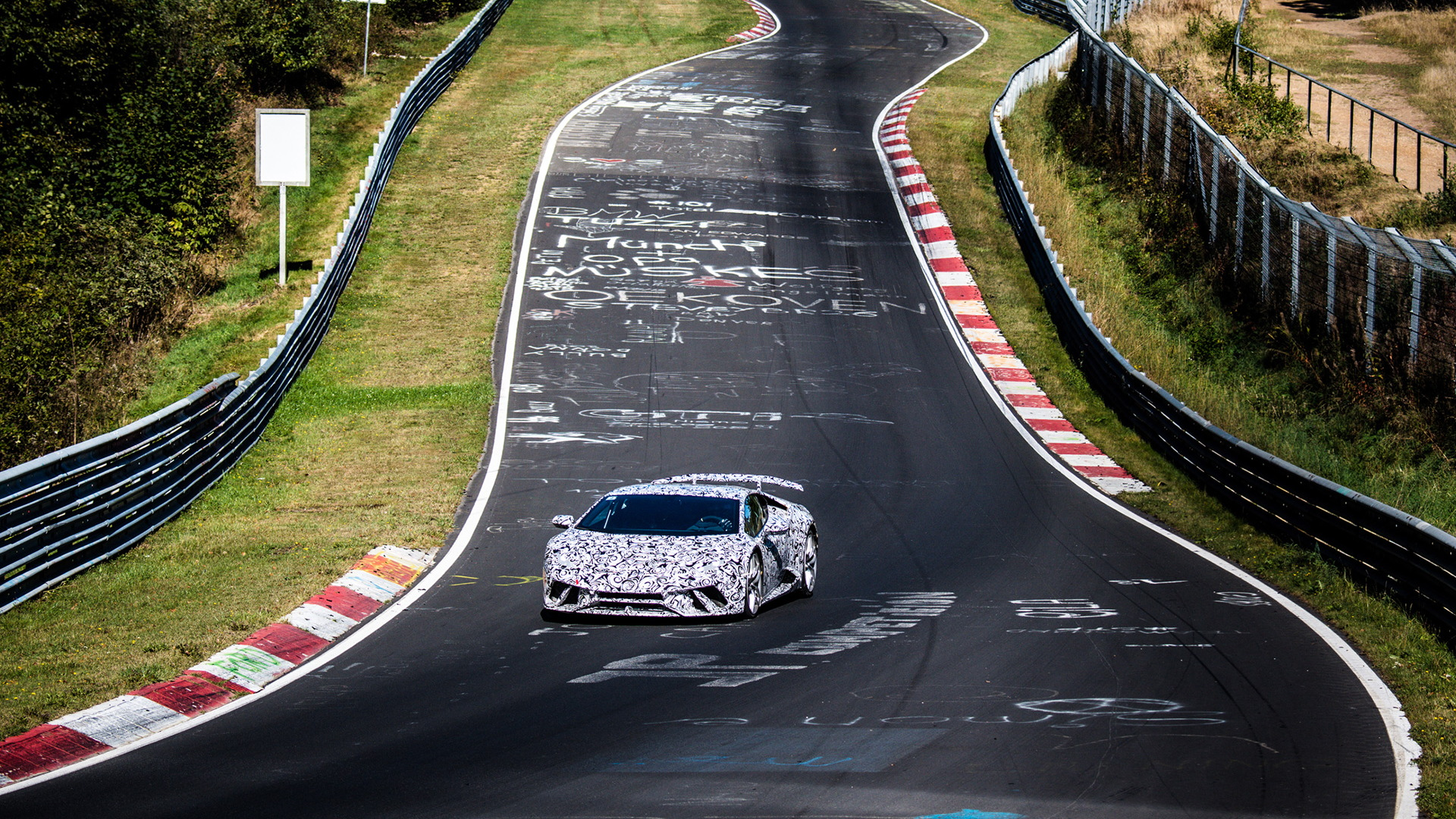 Lamborghini Huracán Performante at the Nürburgring