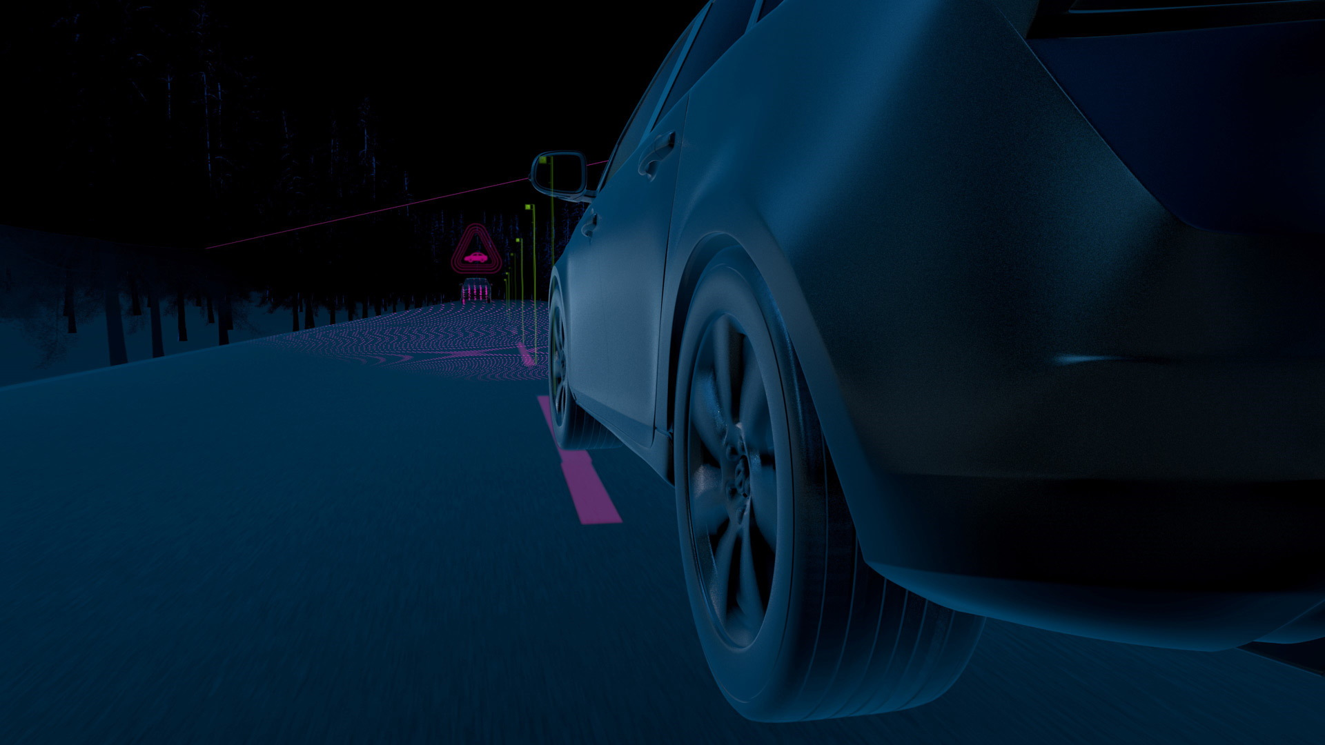 Volvo City Safety collision avoidance system now with automatic emergency steering