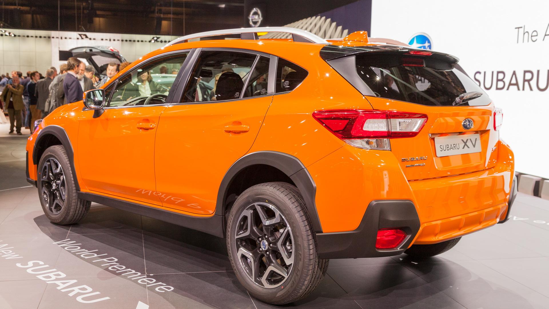 2018 Subaru Crosstrek, 2017 Geneva auto show