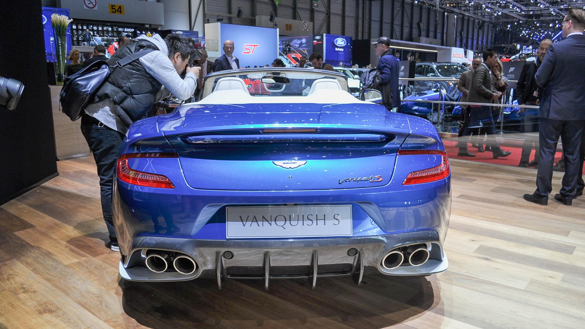 2018 Aston Martin Vanquish S Volante, 2017 Geneva auto show