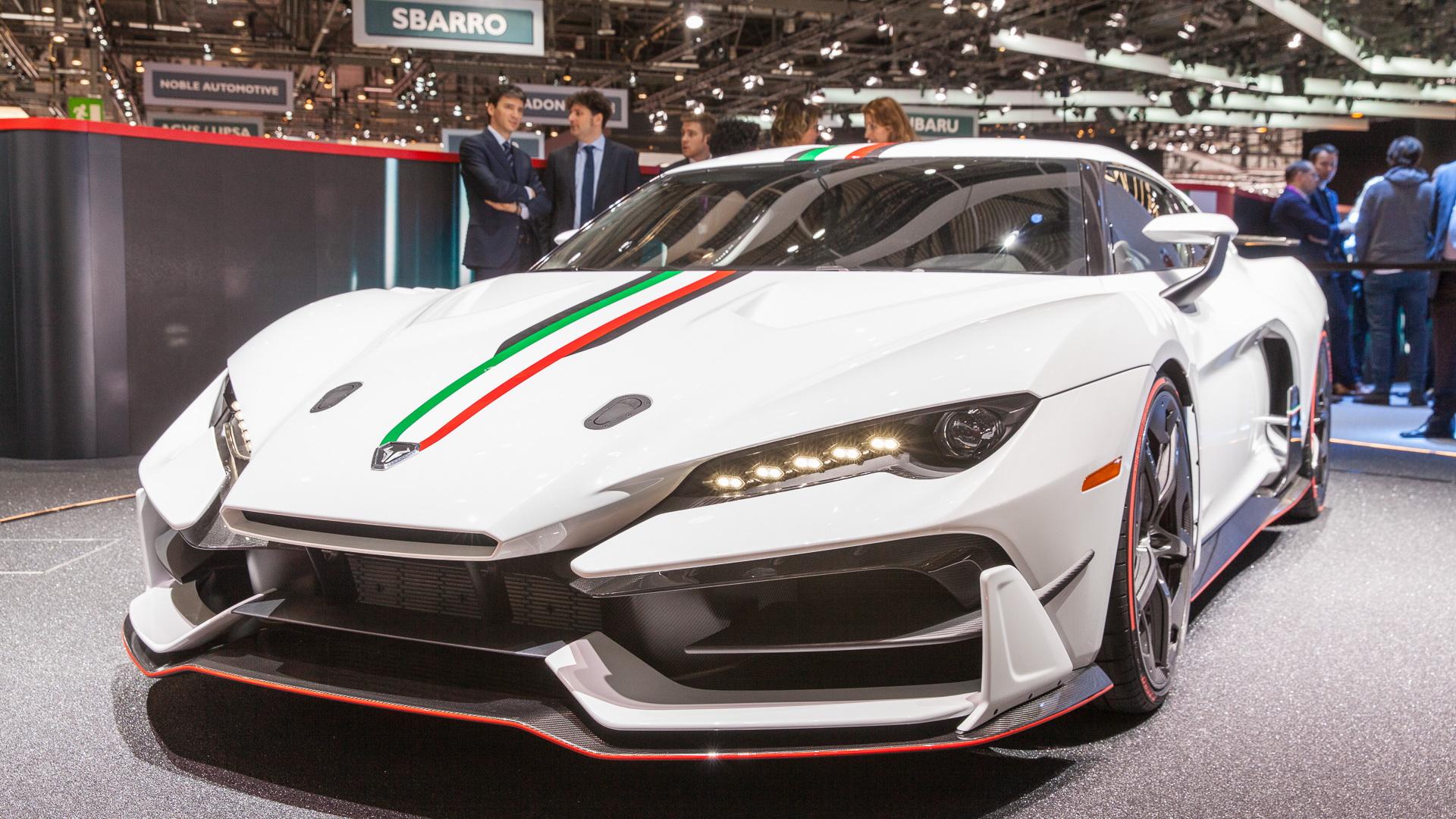 Italdesign Zerouno, 2017 Geneva auto show